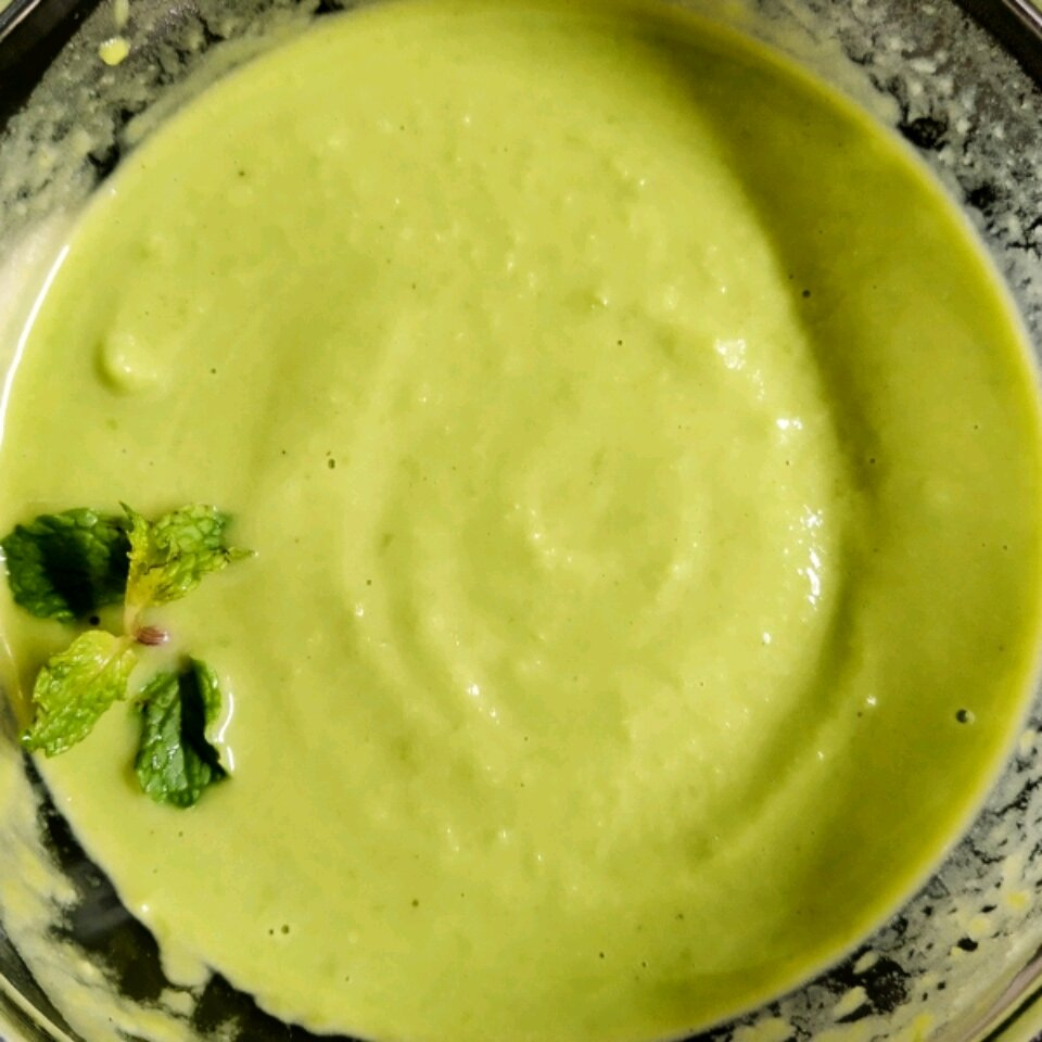 fresh pea soup recipe