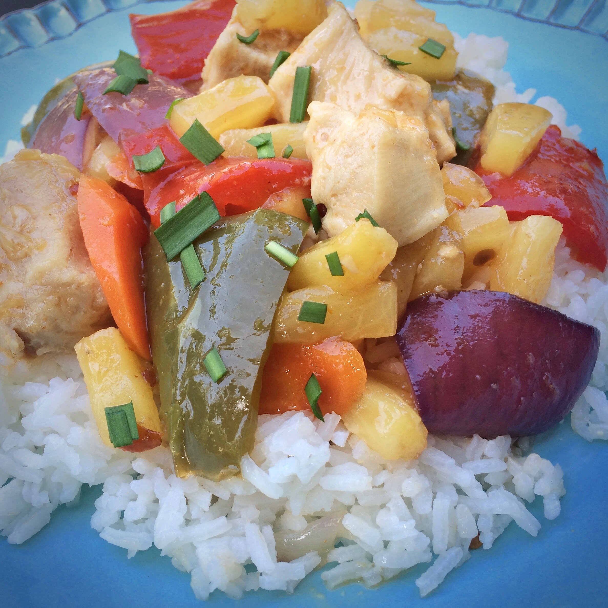 sheet pan sweet and sour chicken recipe