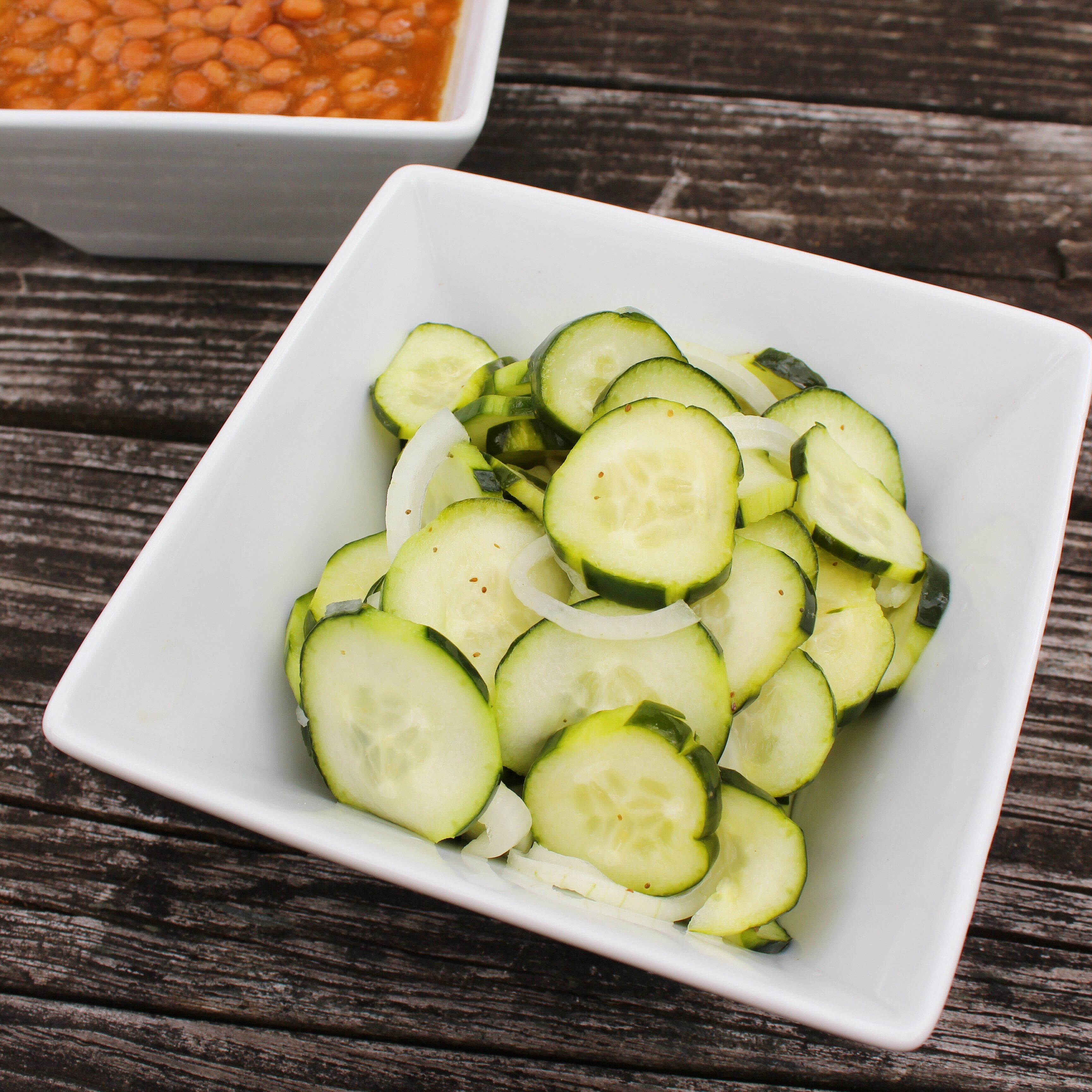 crisp marinated cucumbers recipe