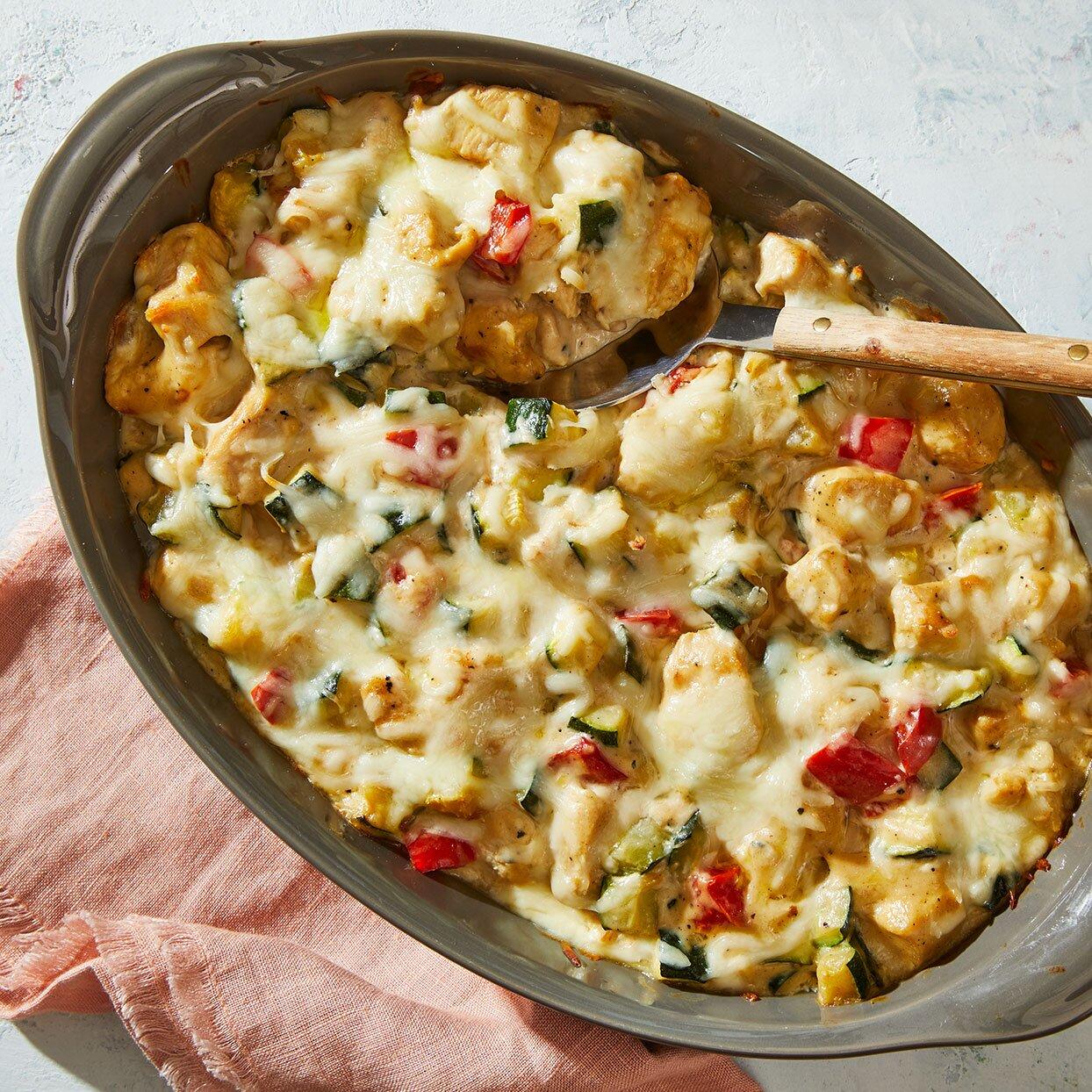 Chicken & Zucchini Casserole