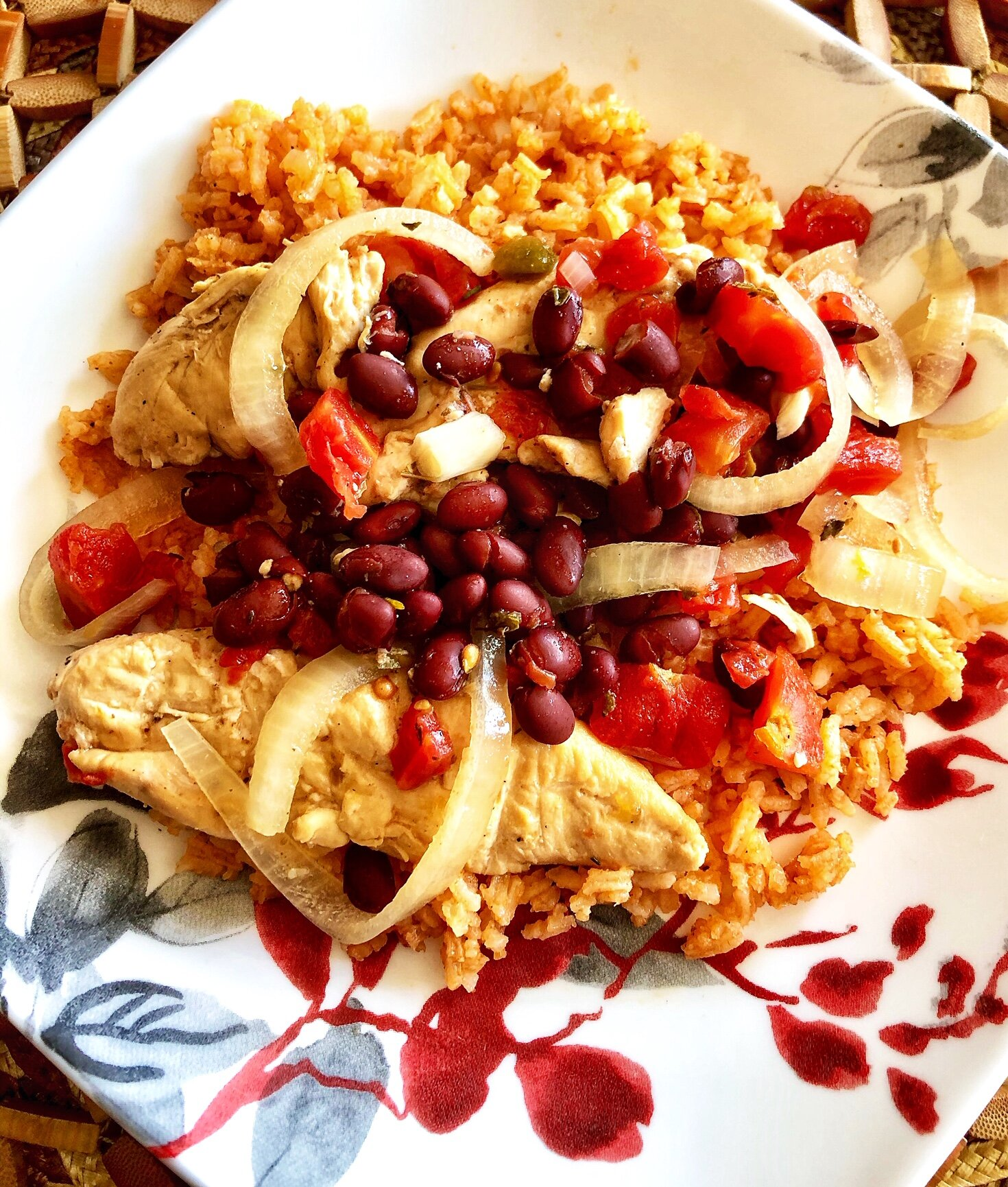 cuban inspired slow cooker chicken recipe