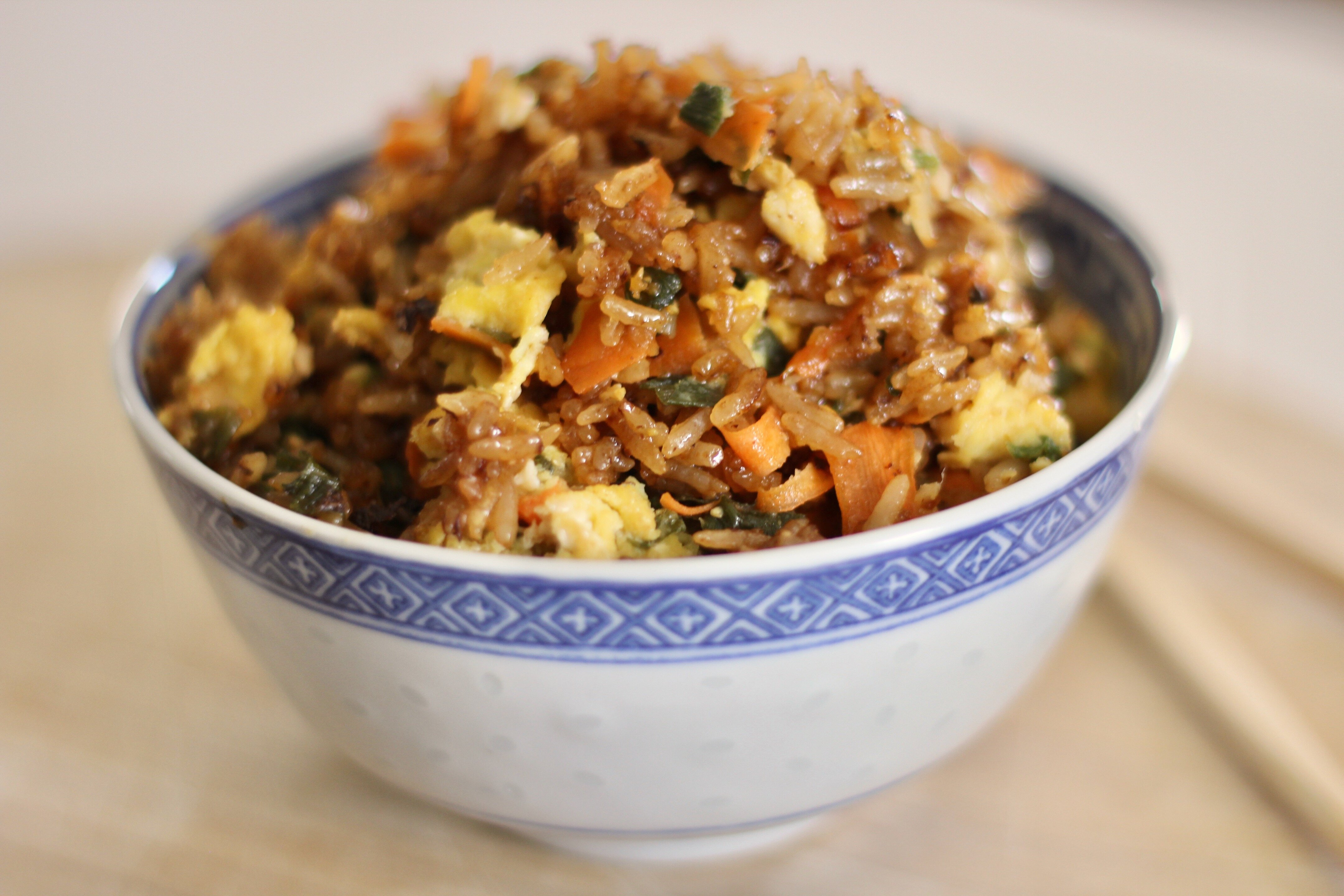 ginger fried rice recipe