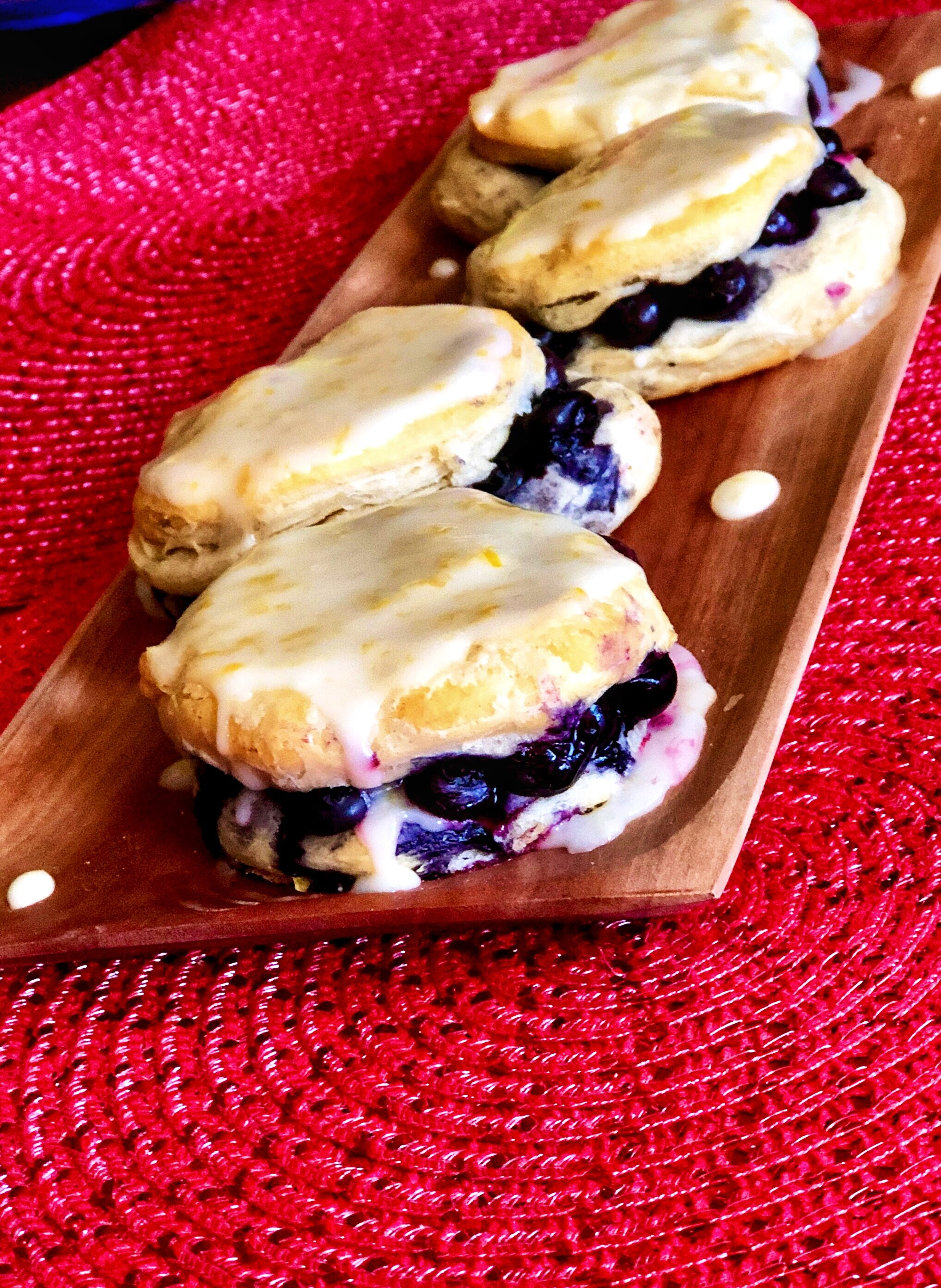 Blueberry-Lemon Breakfast Biscuits