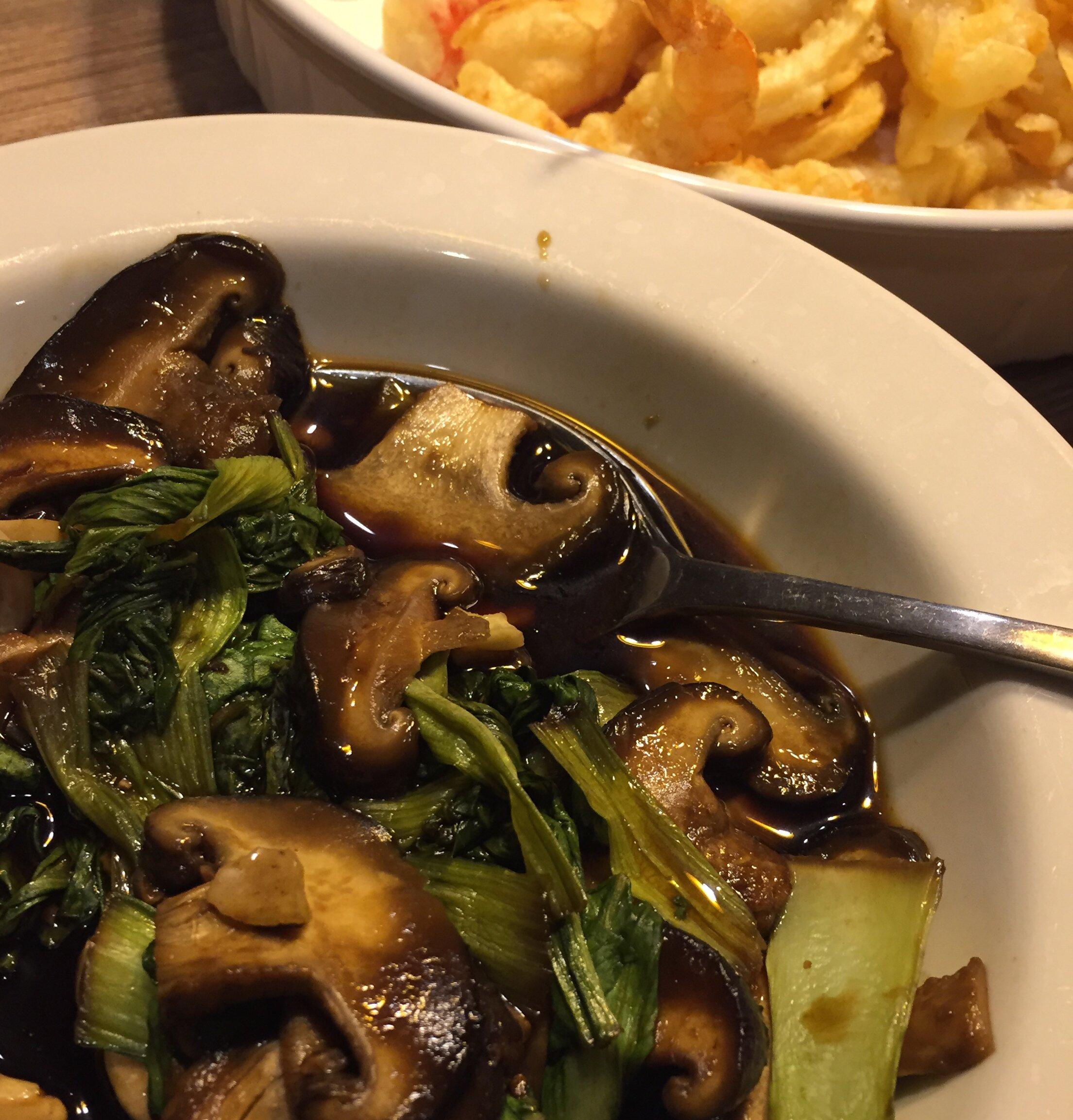 bok choy and shiitake stir fry recipe