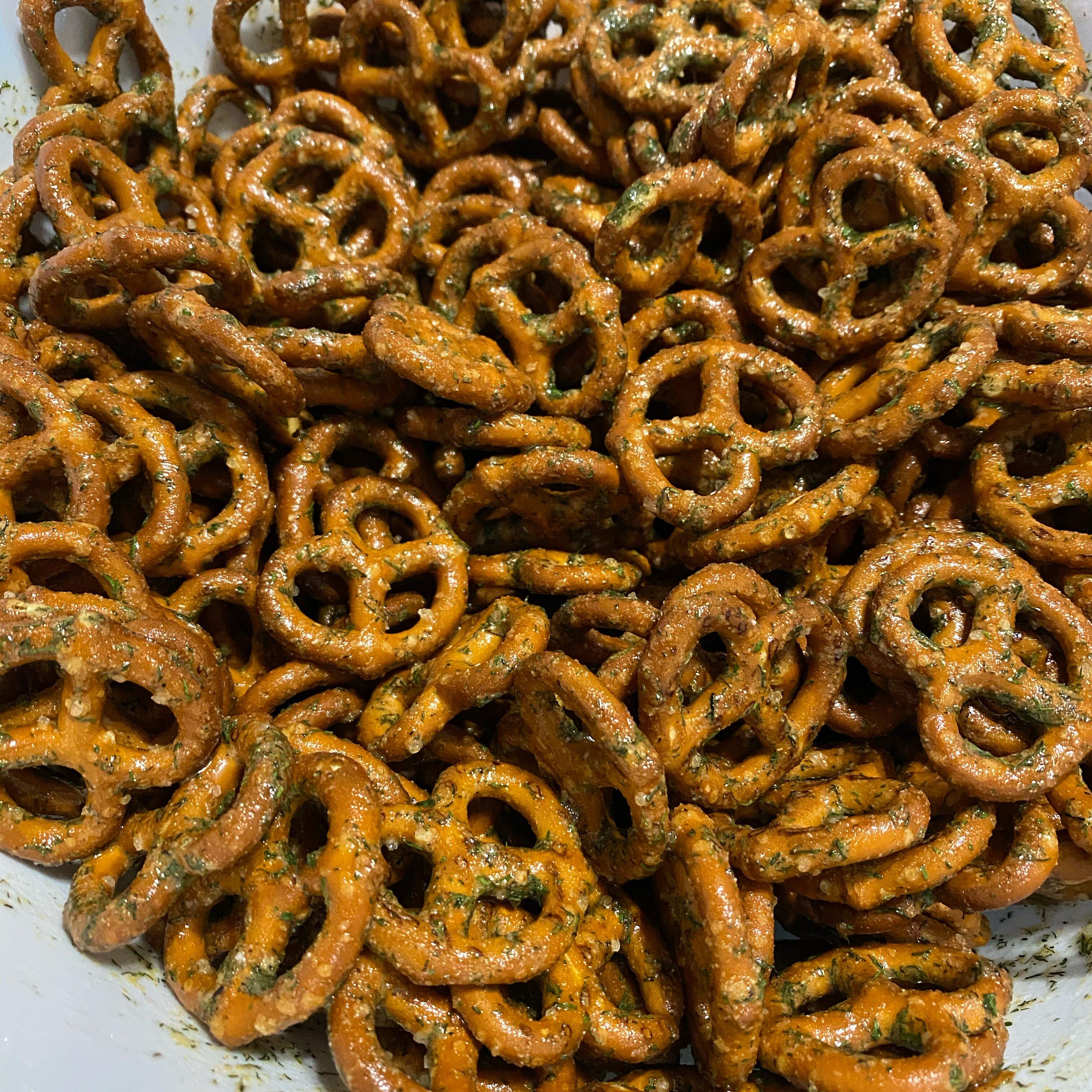 marinated pretzels recipe