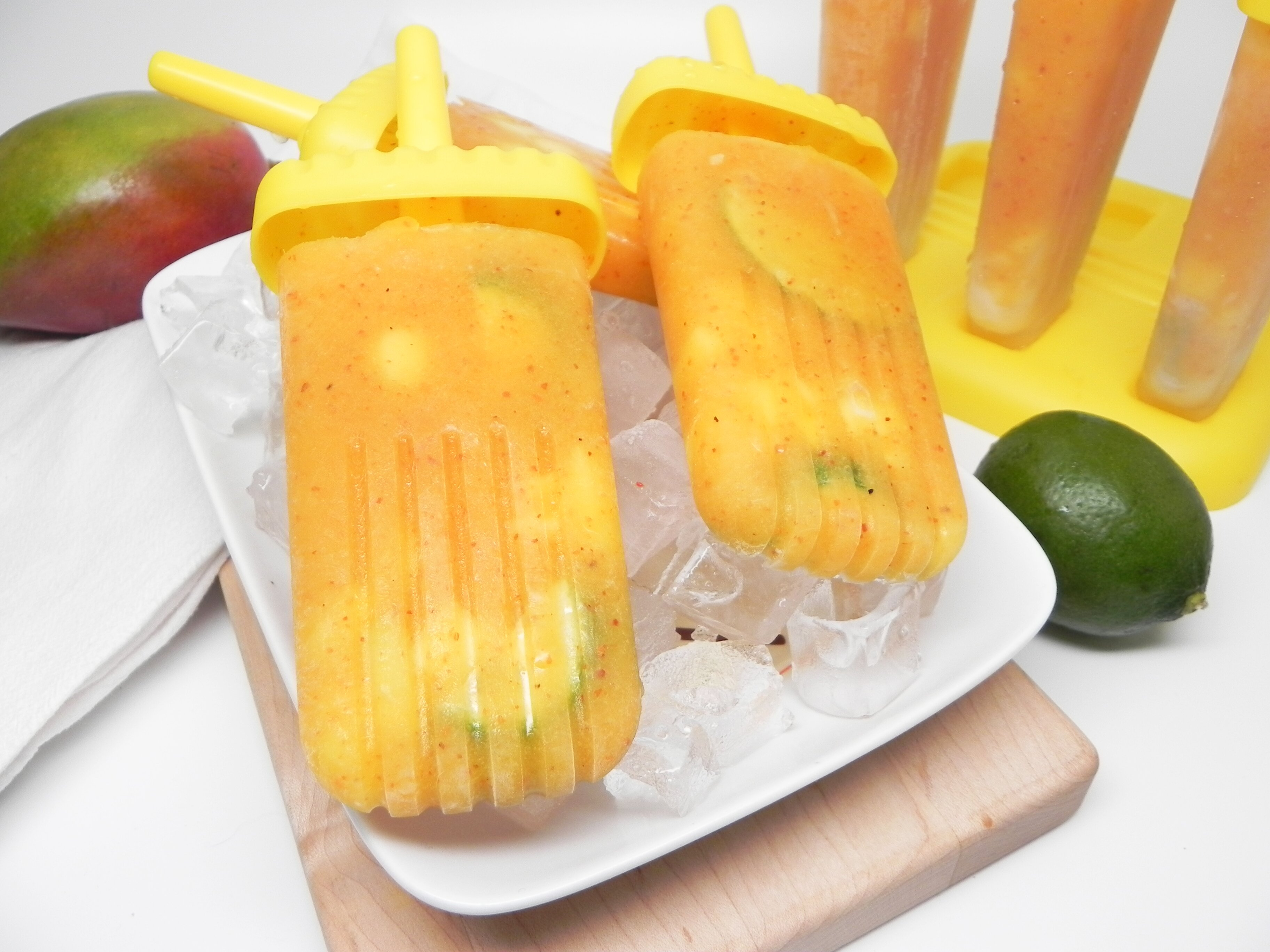 mango tajin ice pops recipe