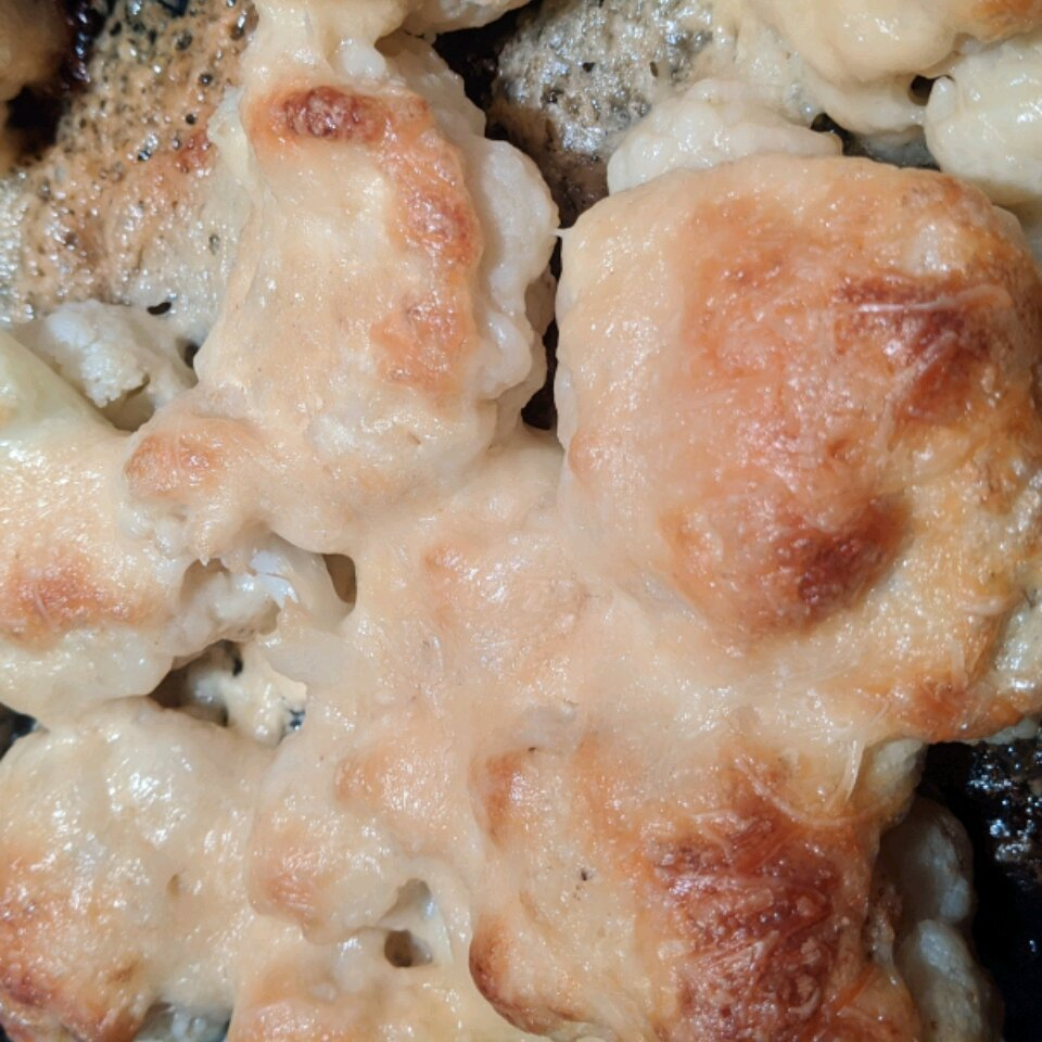 cheesy baked cauliflower recipe