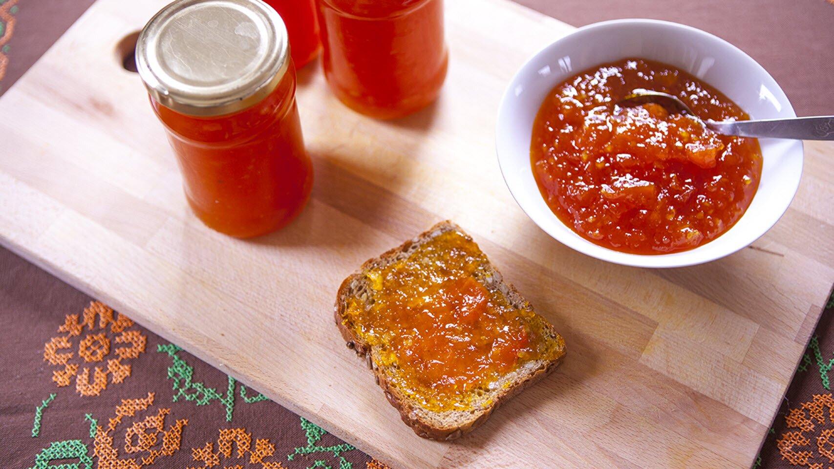 pumpkin ginger jam recipe