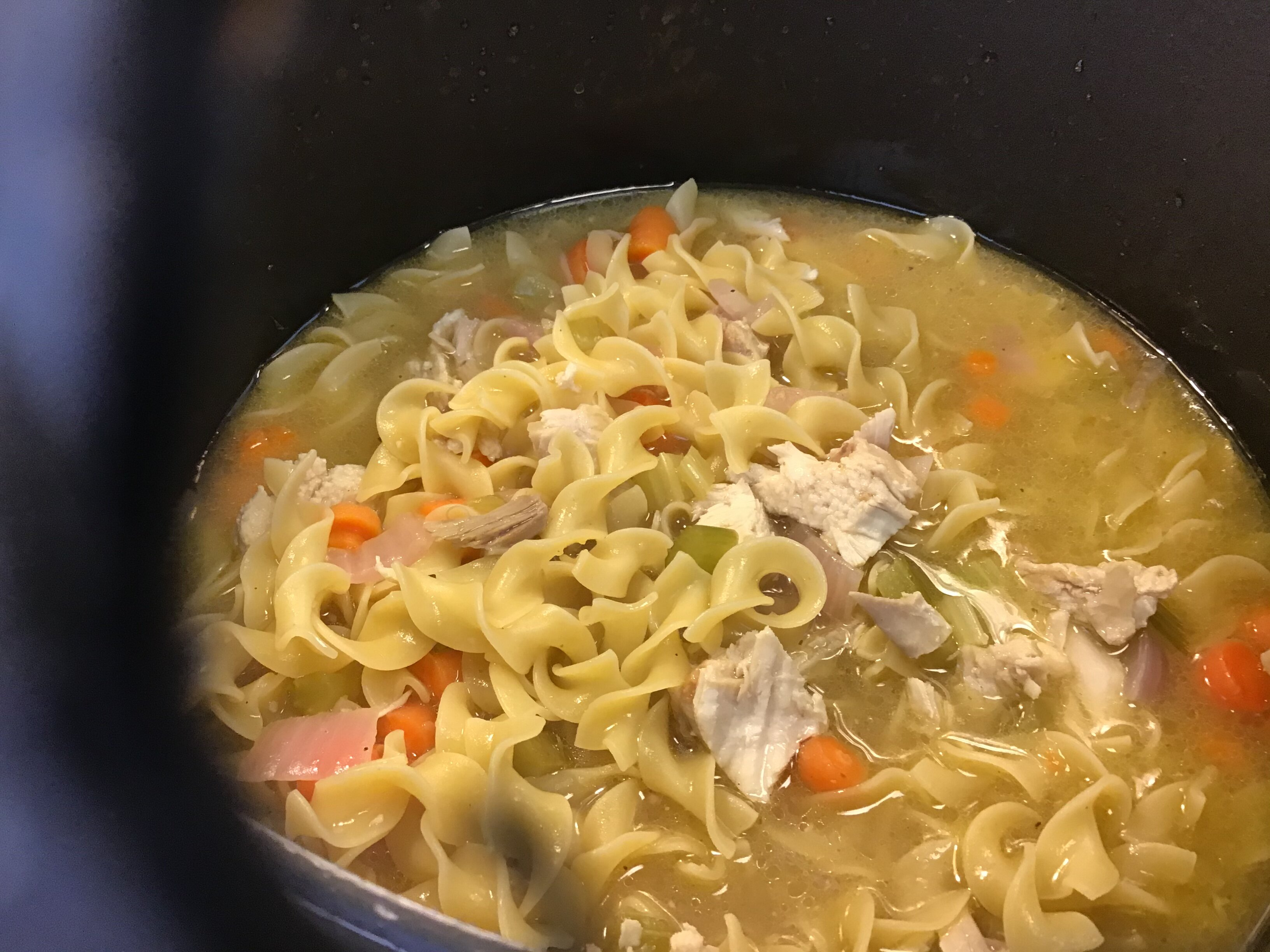 rotisserie chicken noodle soup recipe