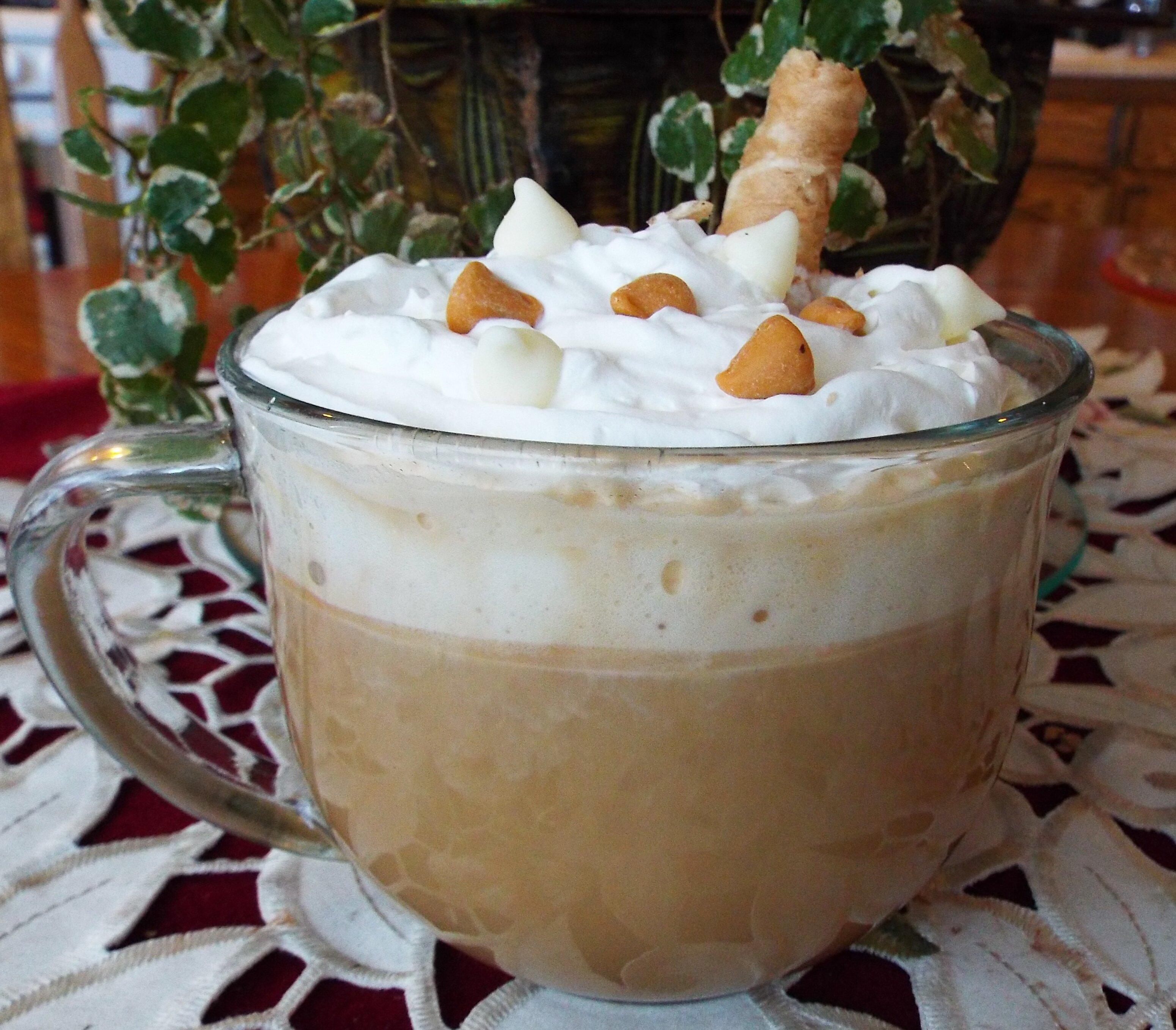 white chocolate butterscotch mocha