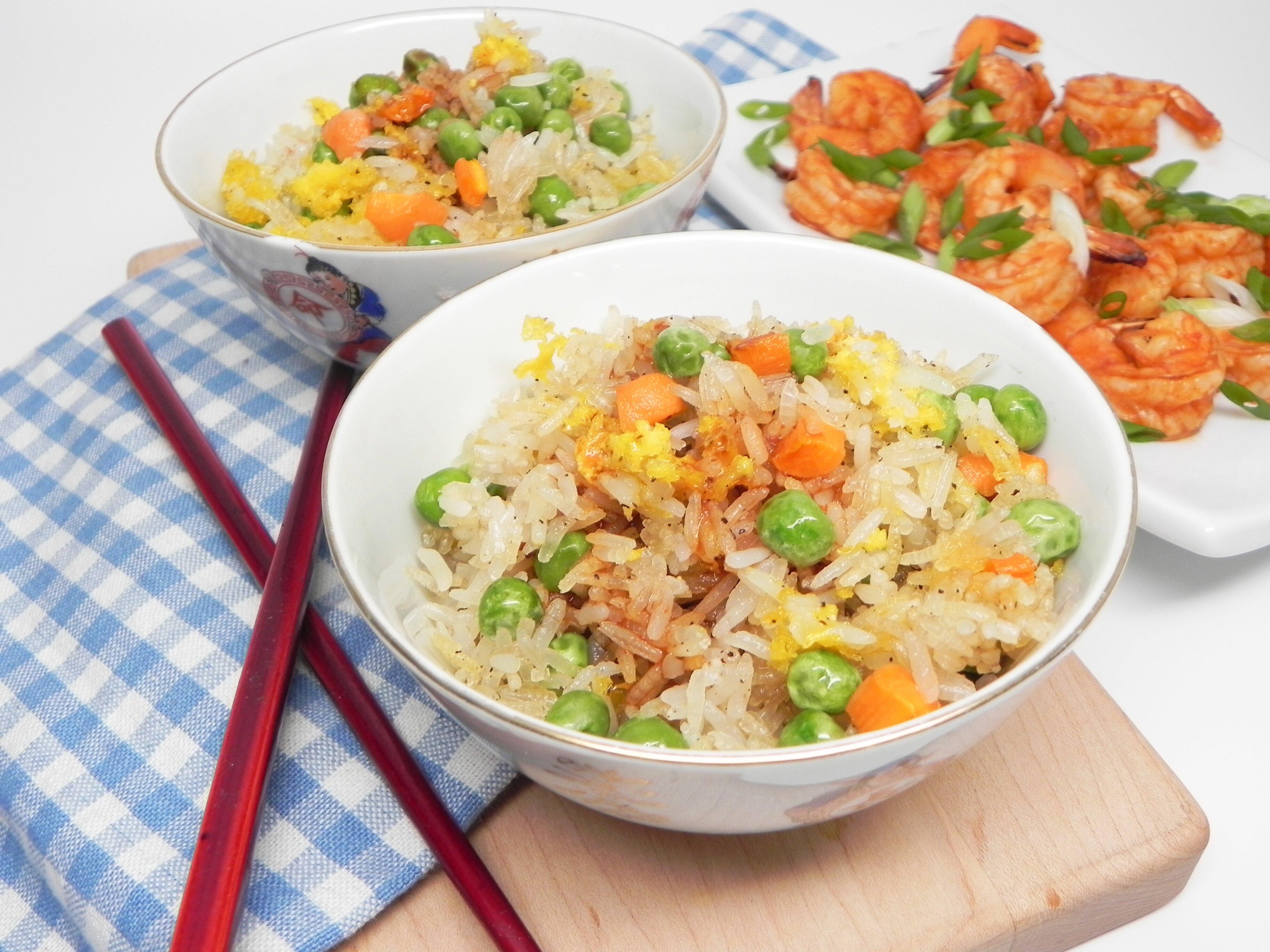 air fryer fried rice