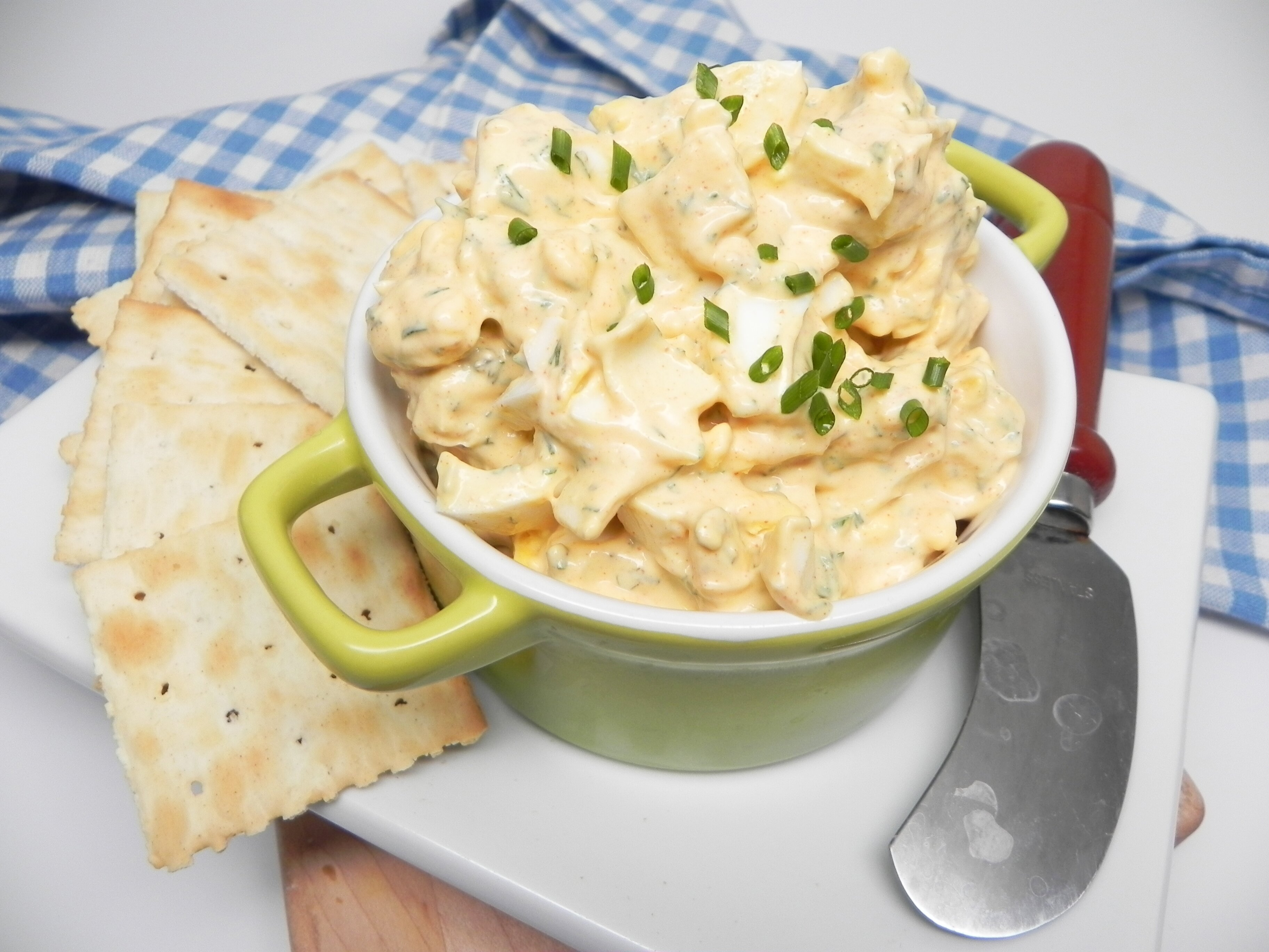 egg salad with dill recipe