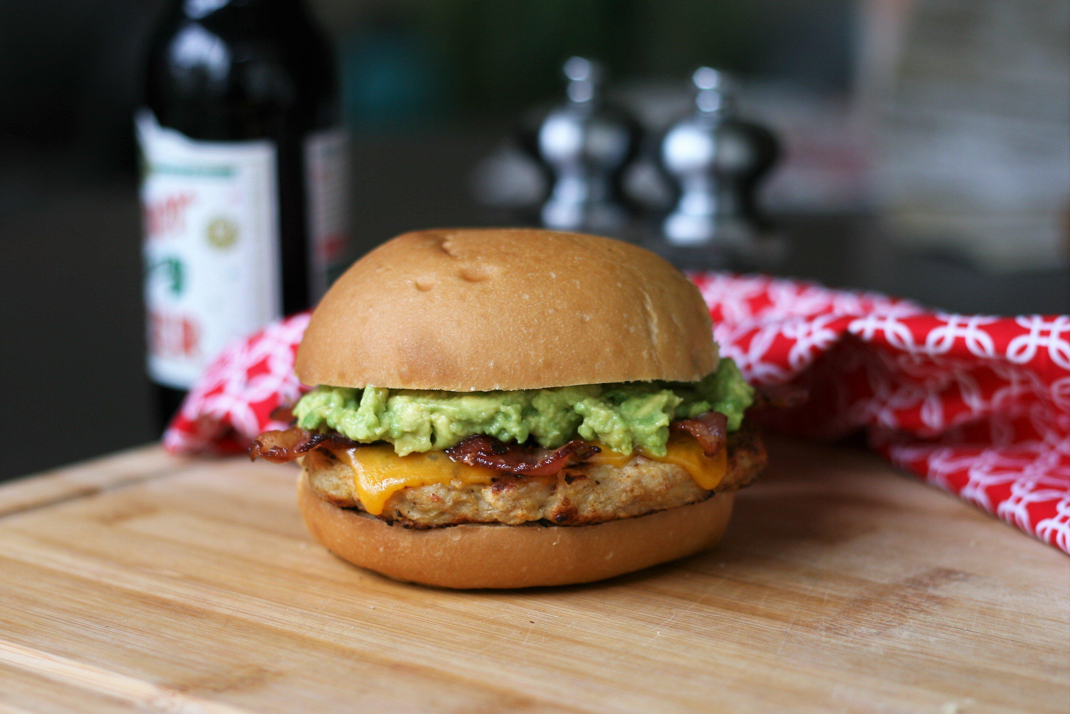 ground chicken burgers recipe