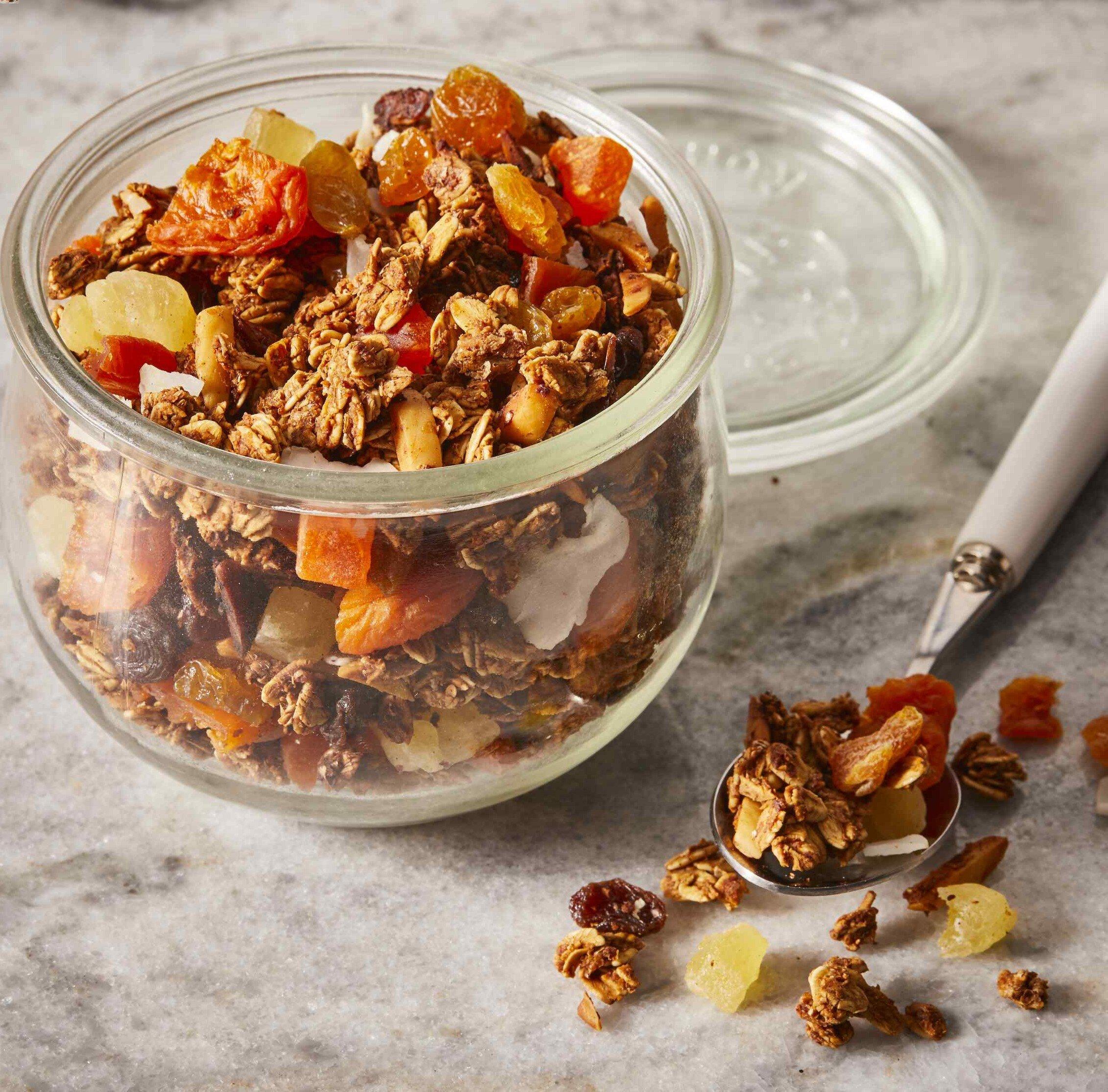 vegan granola recipe