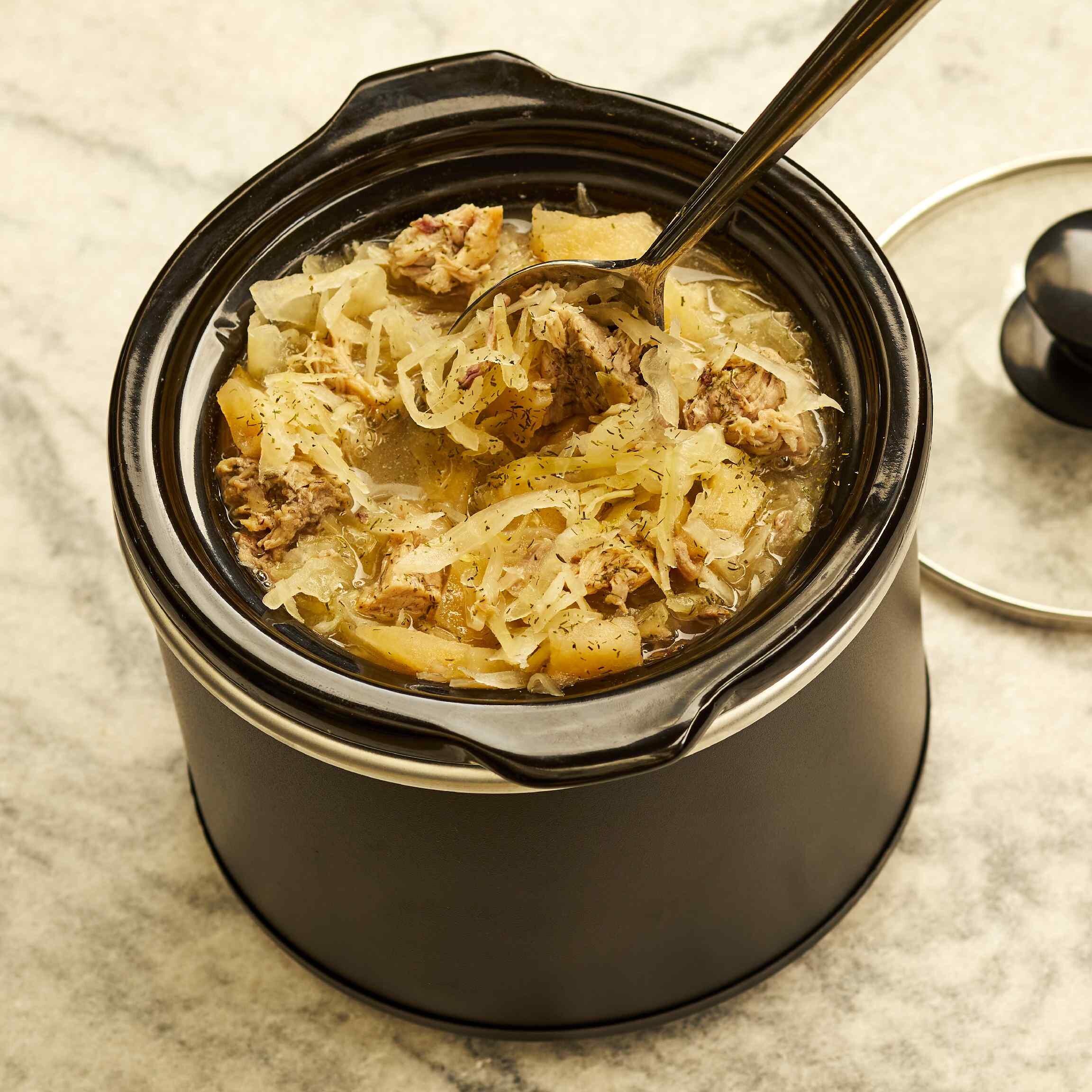 easy pork and sauerkraut recipe