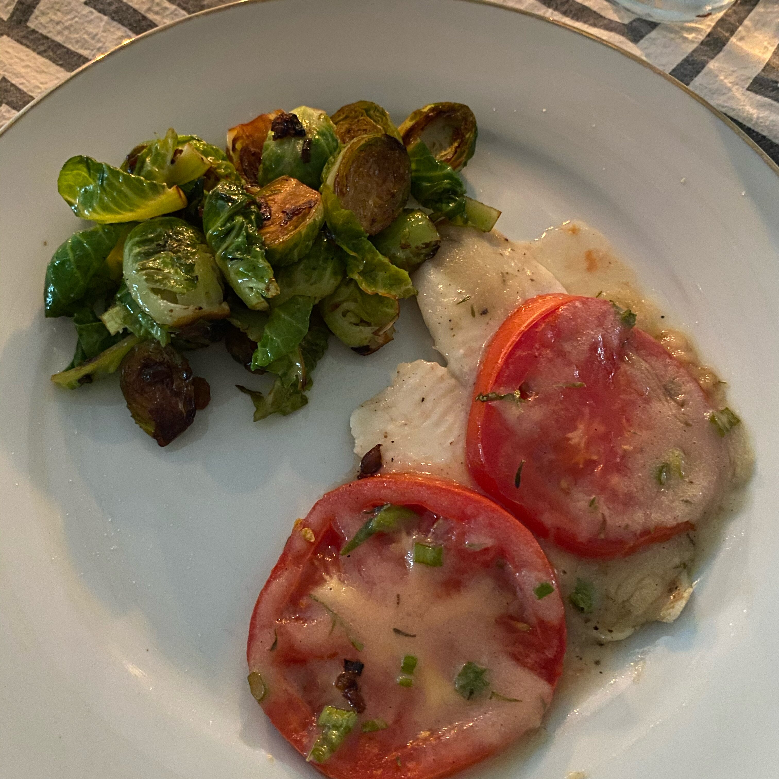 orange roughy with sherry and herb sauce recipe