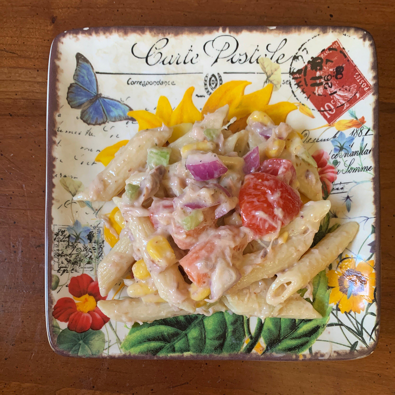 summertime tuna pasta salad recipe