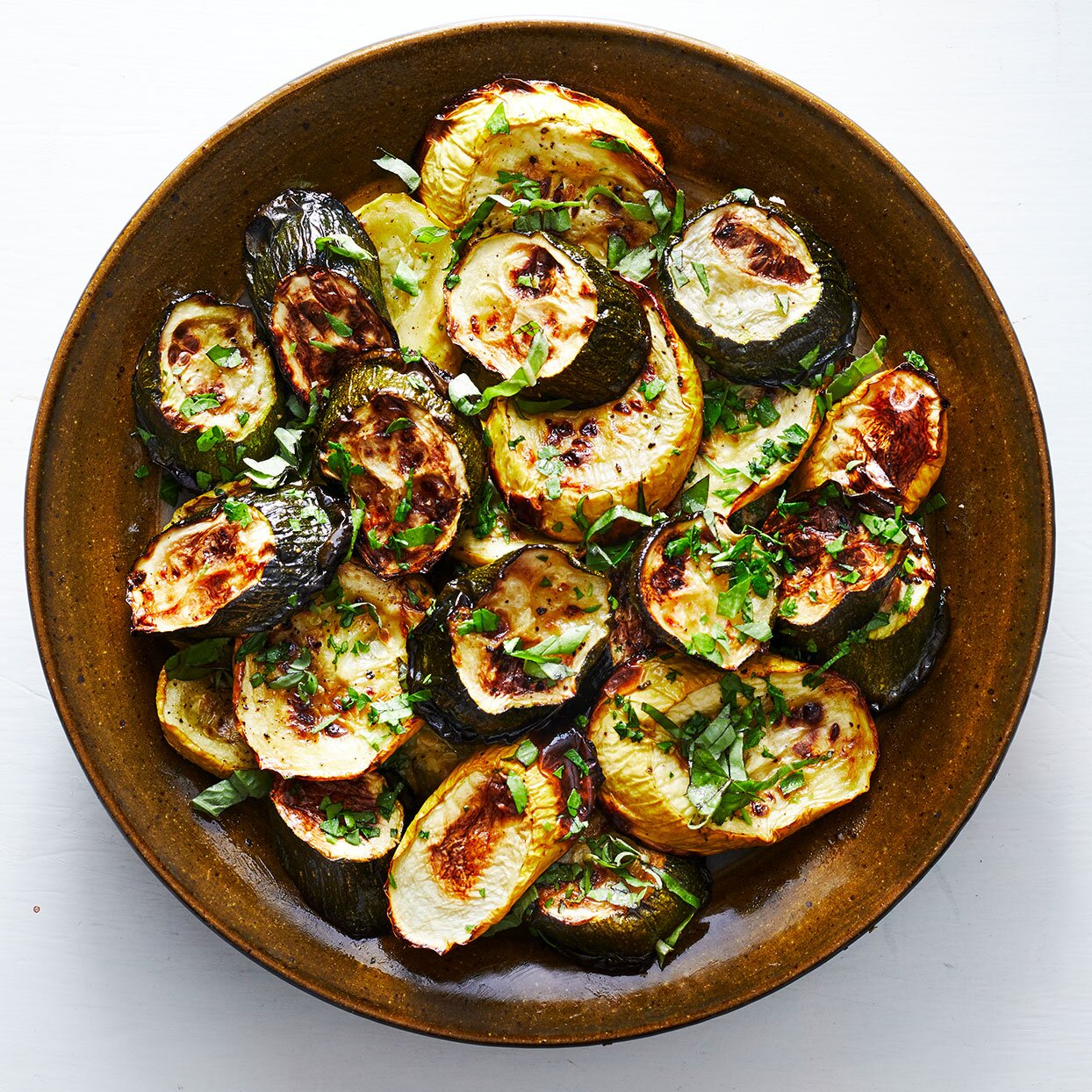 Simple Roasted Zucchini & Squash