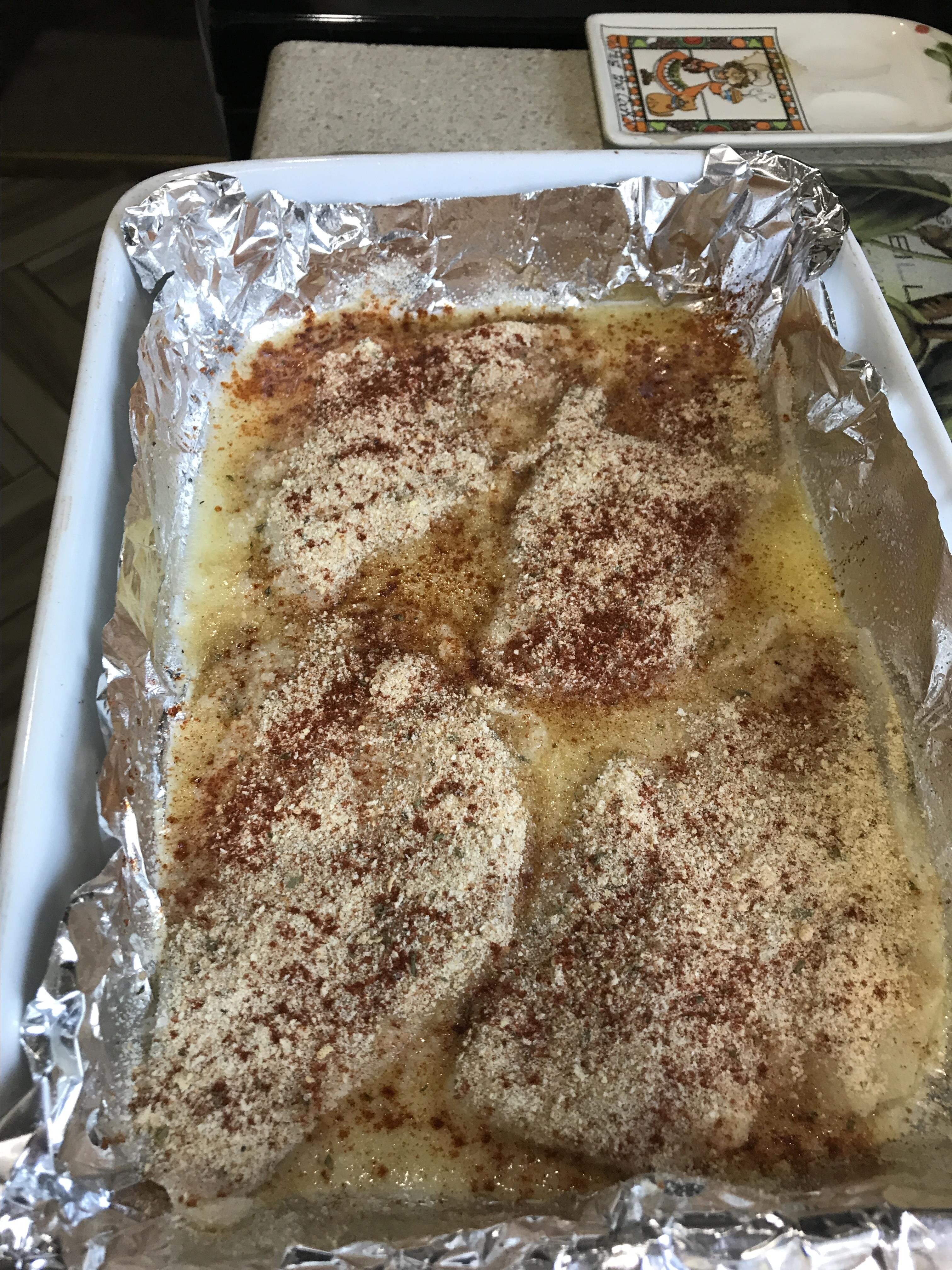 easy excellent baked flounder recipe