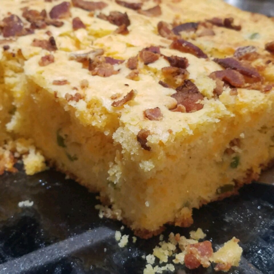 bacon cheddar jalapeno cornbread recipe