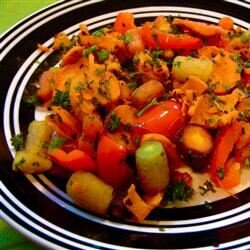 roasted vegetable medley with chipotle recipe