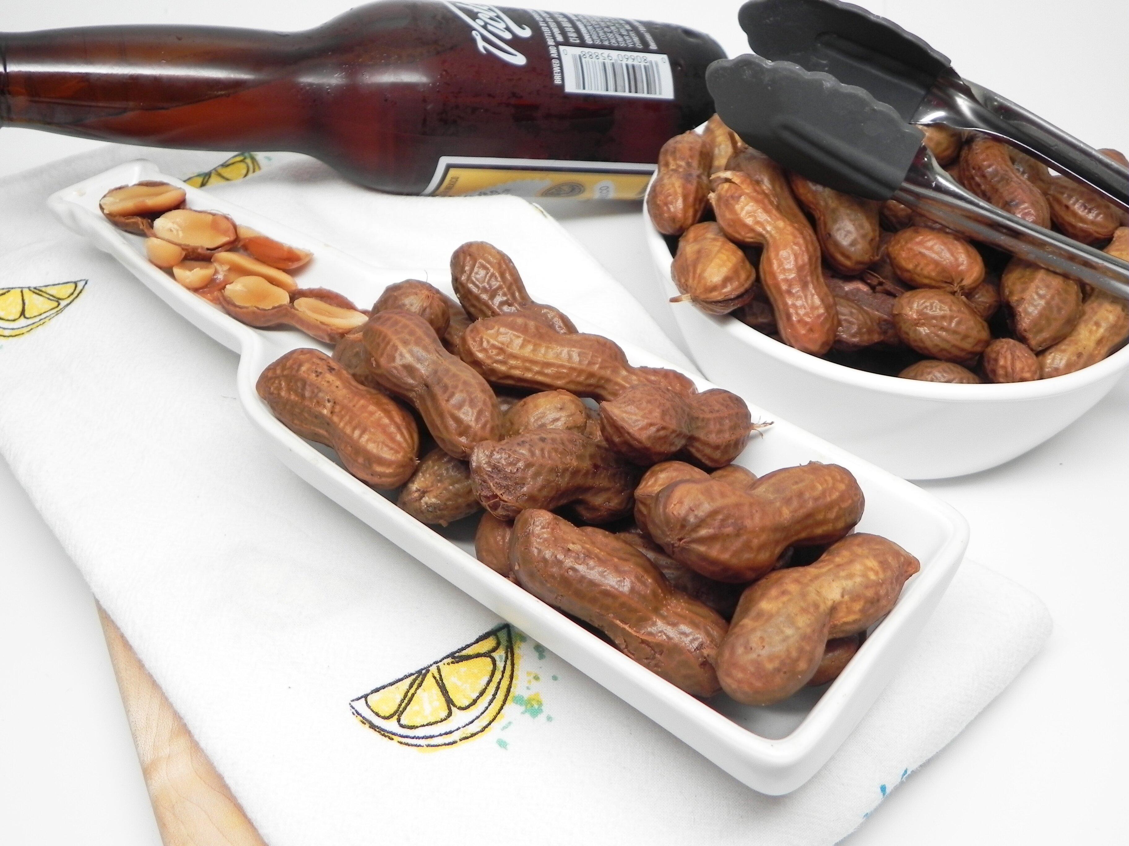 instant pot salt and vinegar boiled peanuts