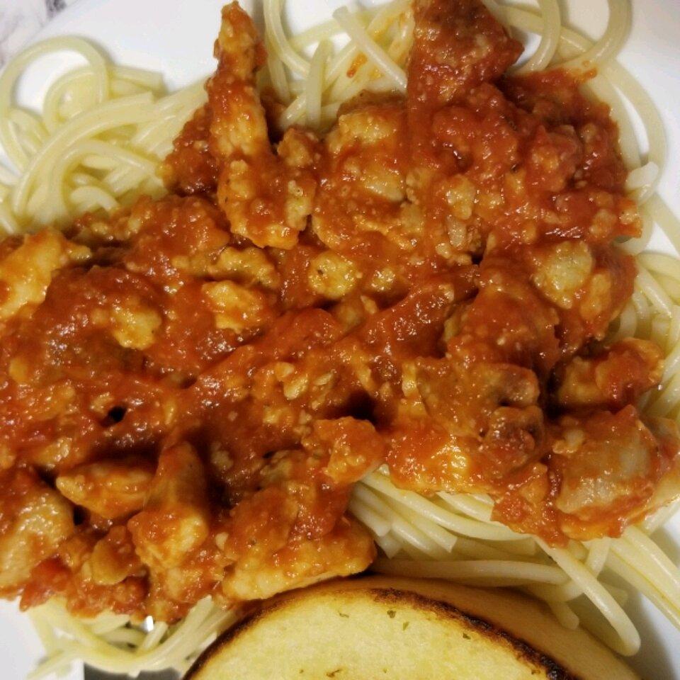 chicken meatballs and spaghetti recipe