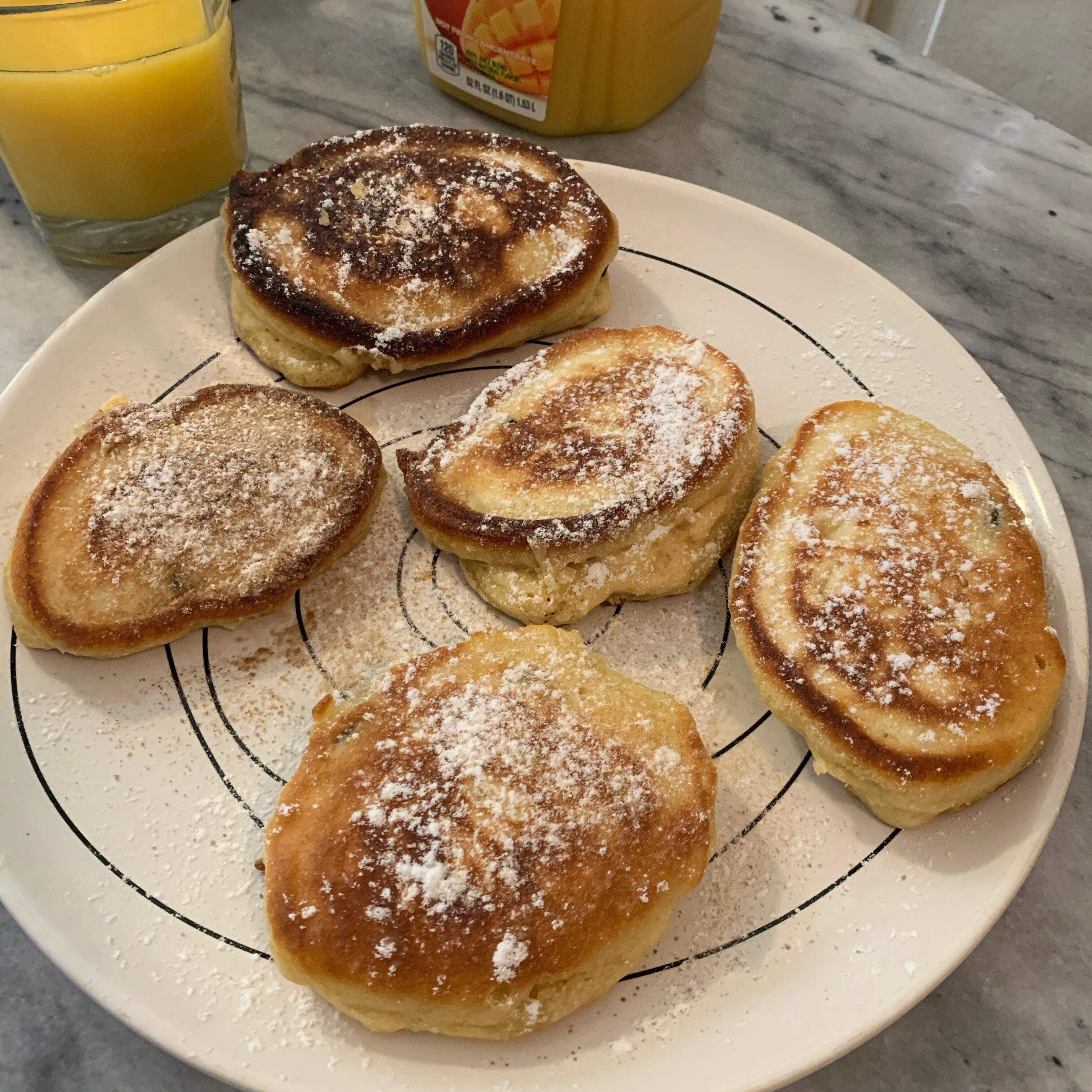 russian kefir pancakes oladi recipe