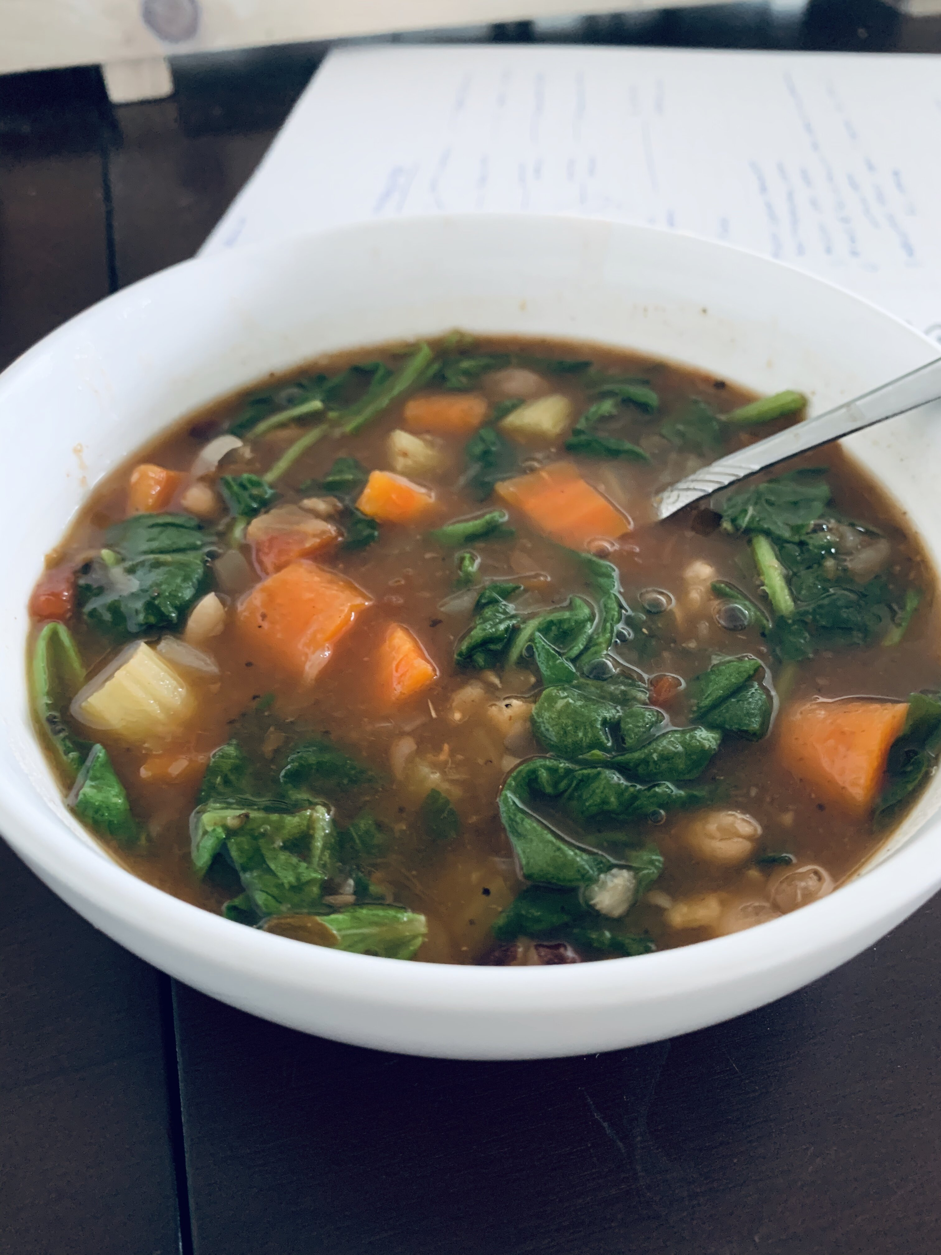 instant pot vegan 15 bean soup recipe