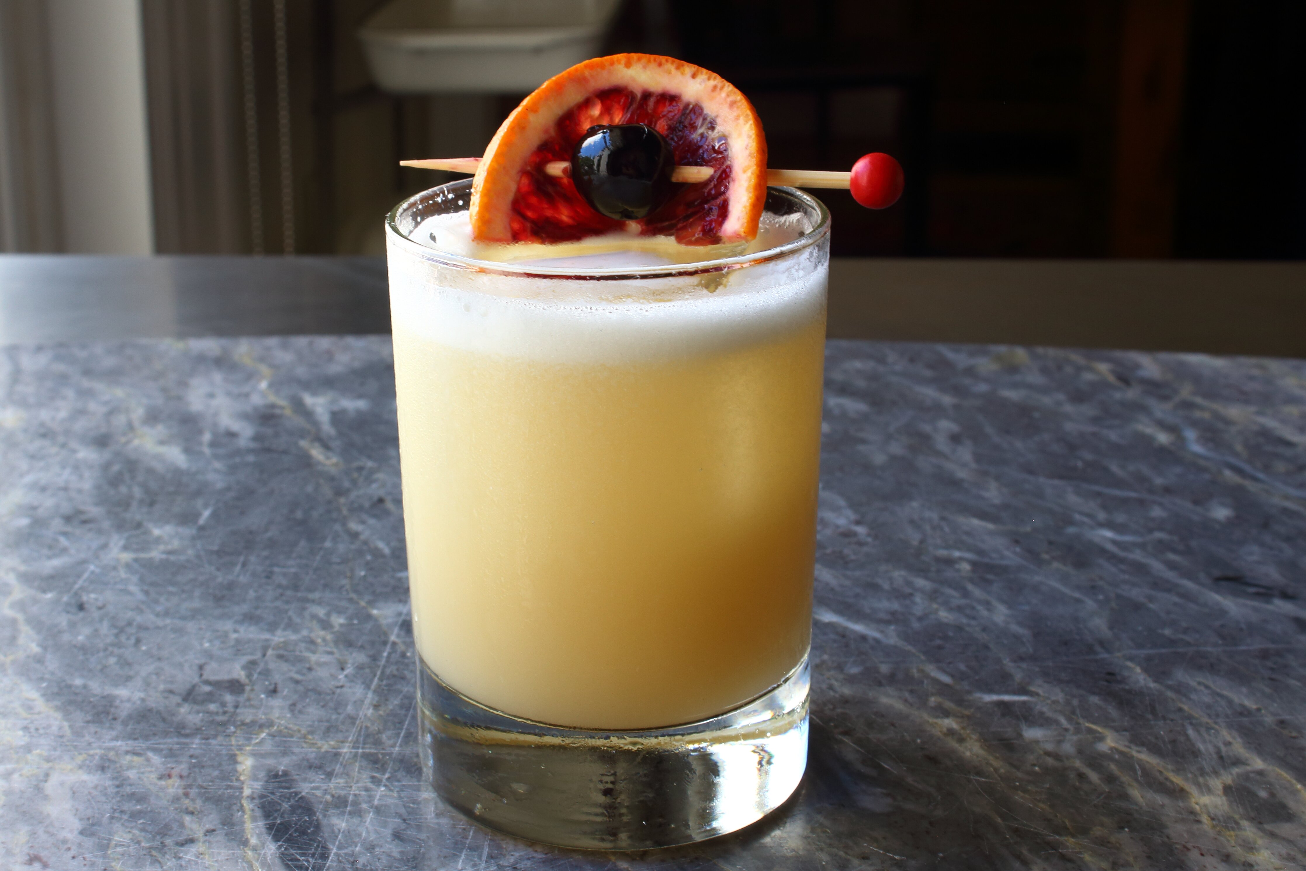 chef johns whiskey sour