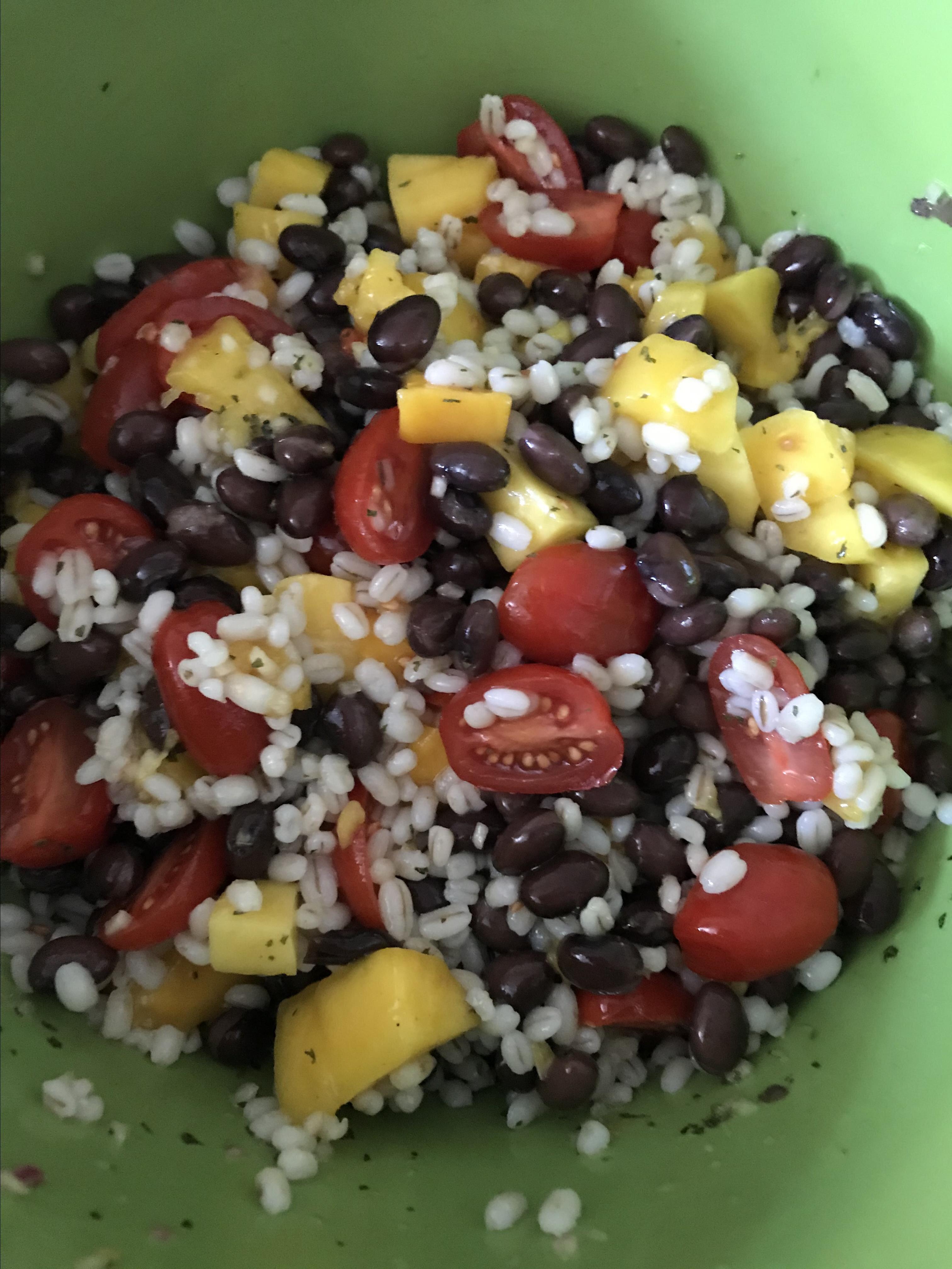 caribbean barley salad recipe