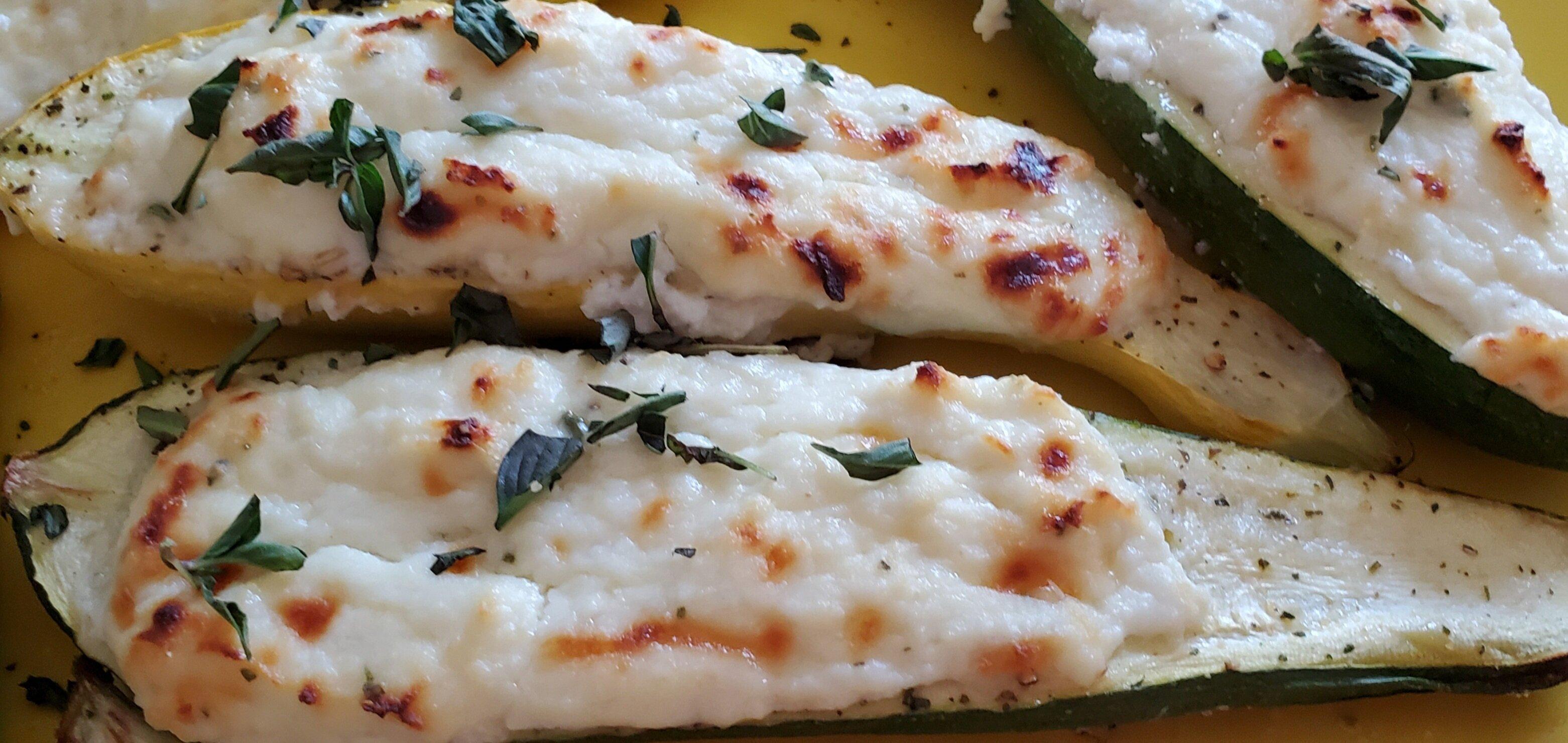 ricotta stuffed zucchini recipe