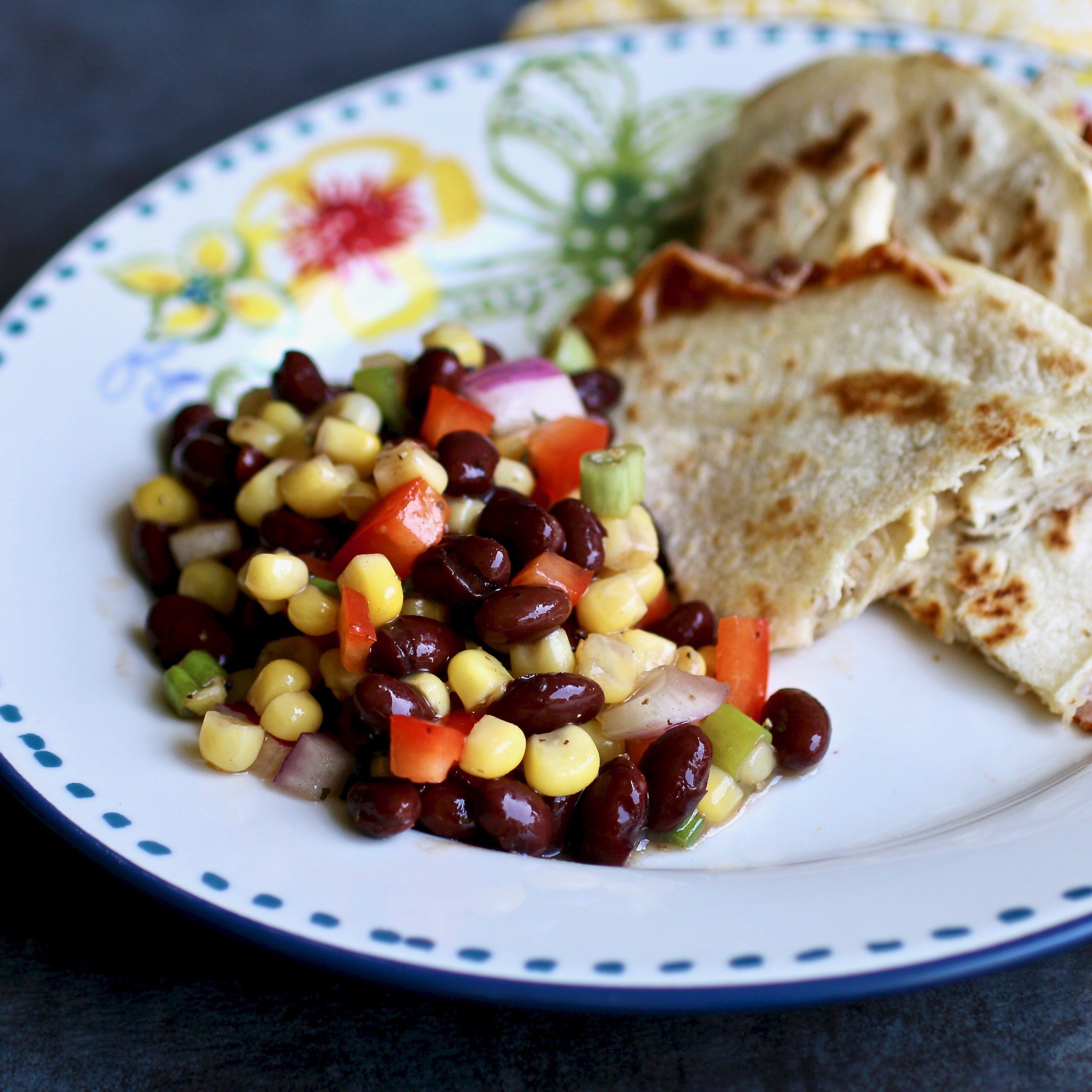 black bean and corn salad i recipe