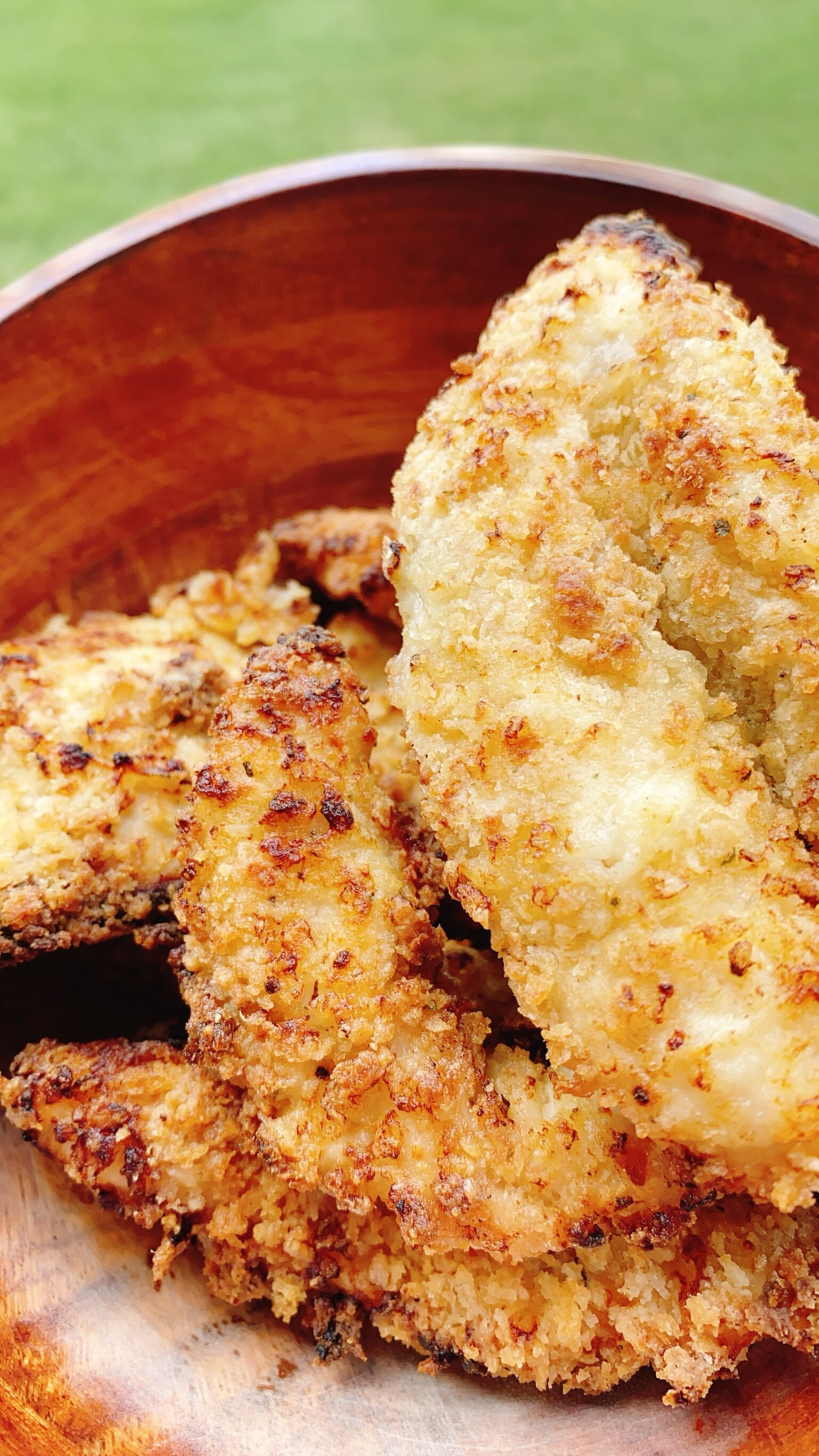 Air-Fried Chicken Strips Recipe