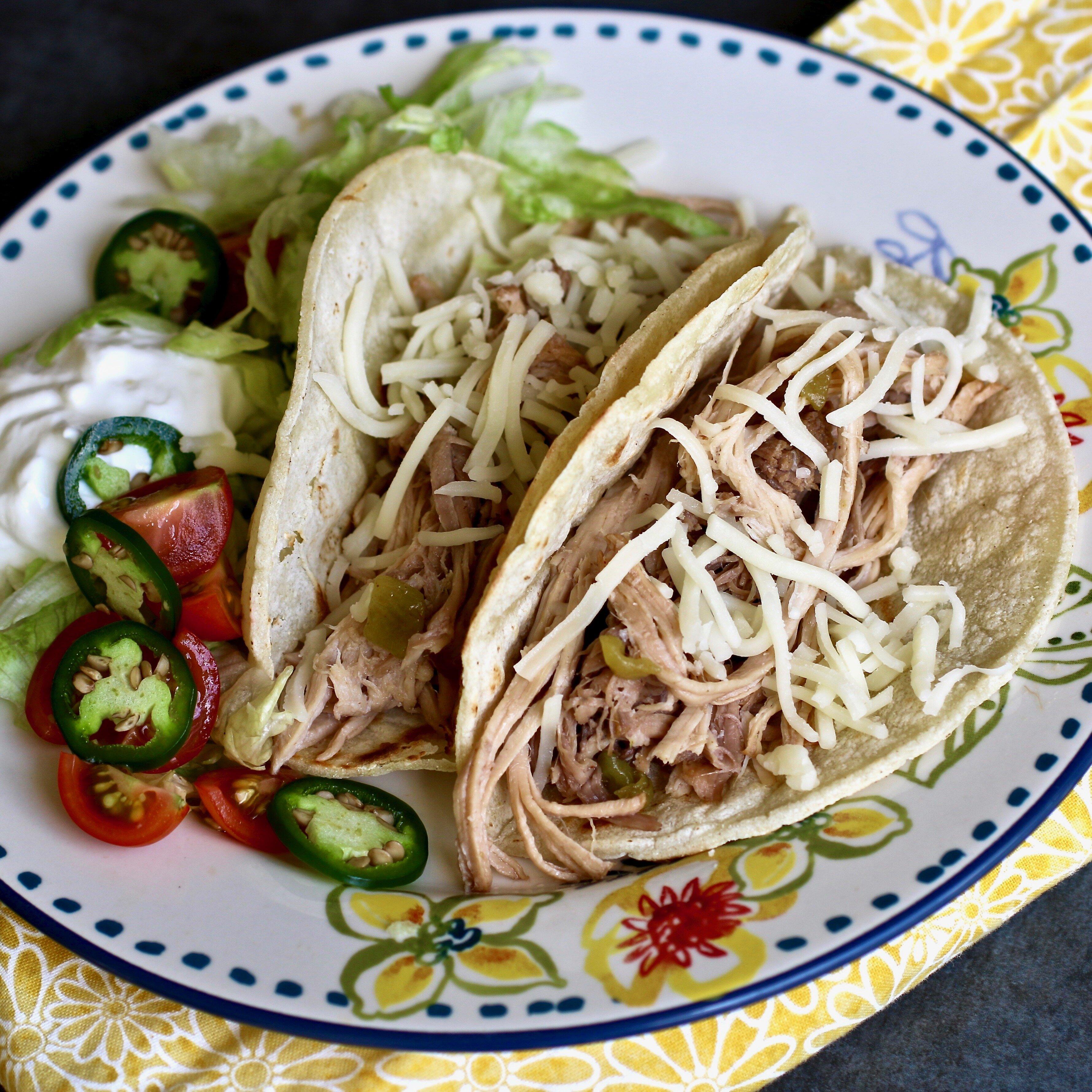 slow cooker pulled pork for tacos