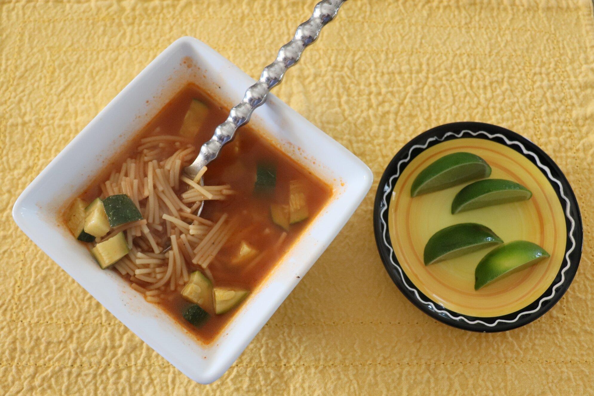 lisa lynns fideo soup