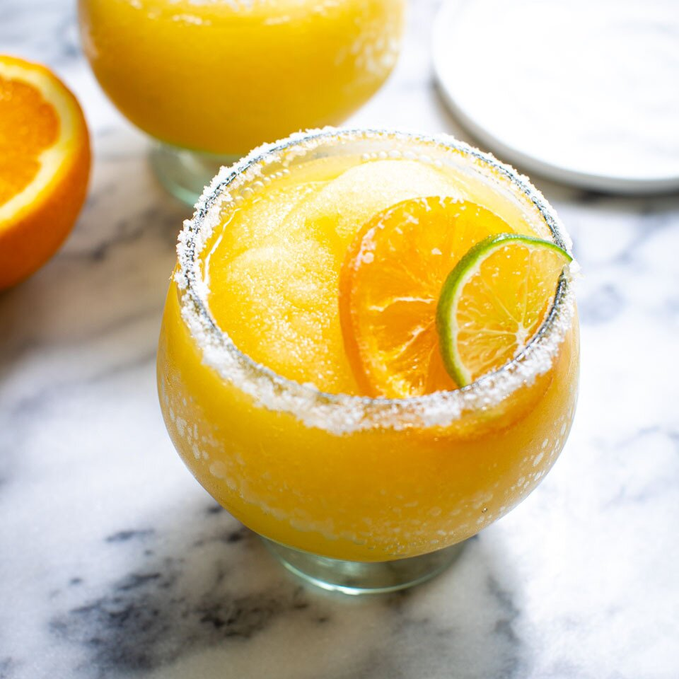 Frozen Orange Margaritas
