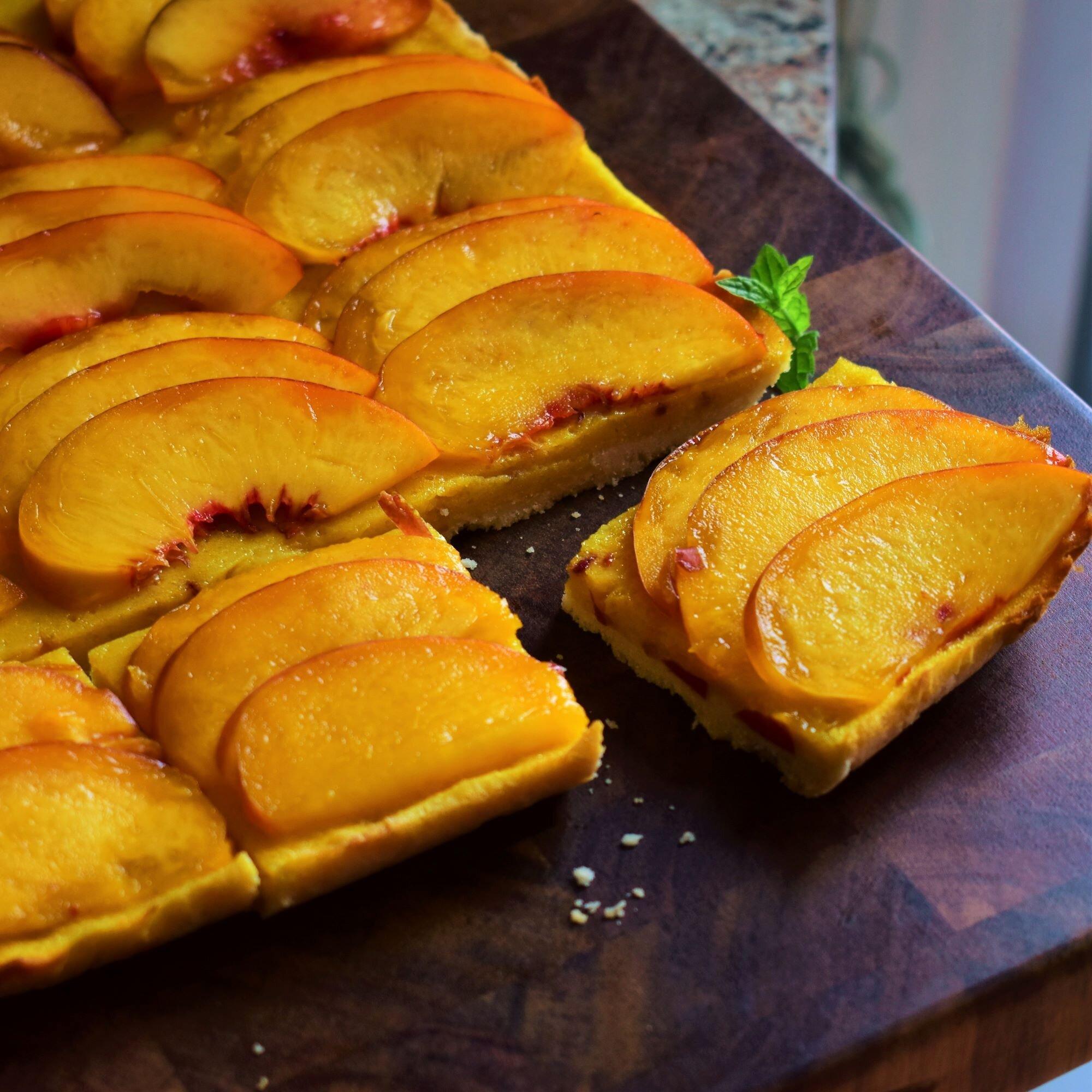 nectarine bars recipe