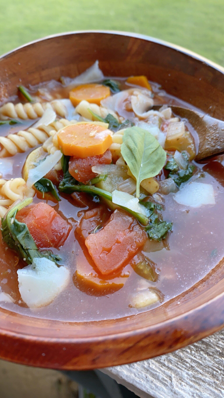 minestrone vegetable soup recipe