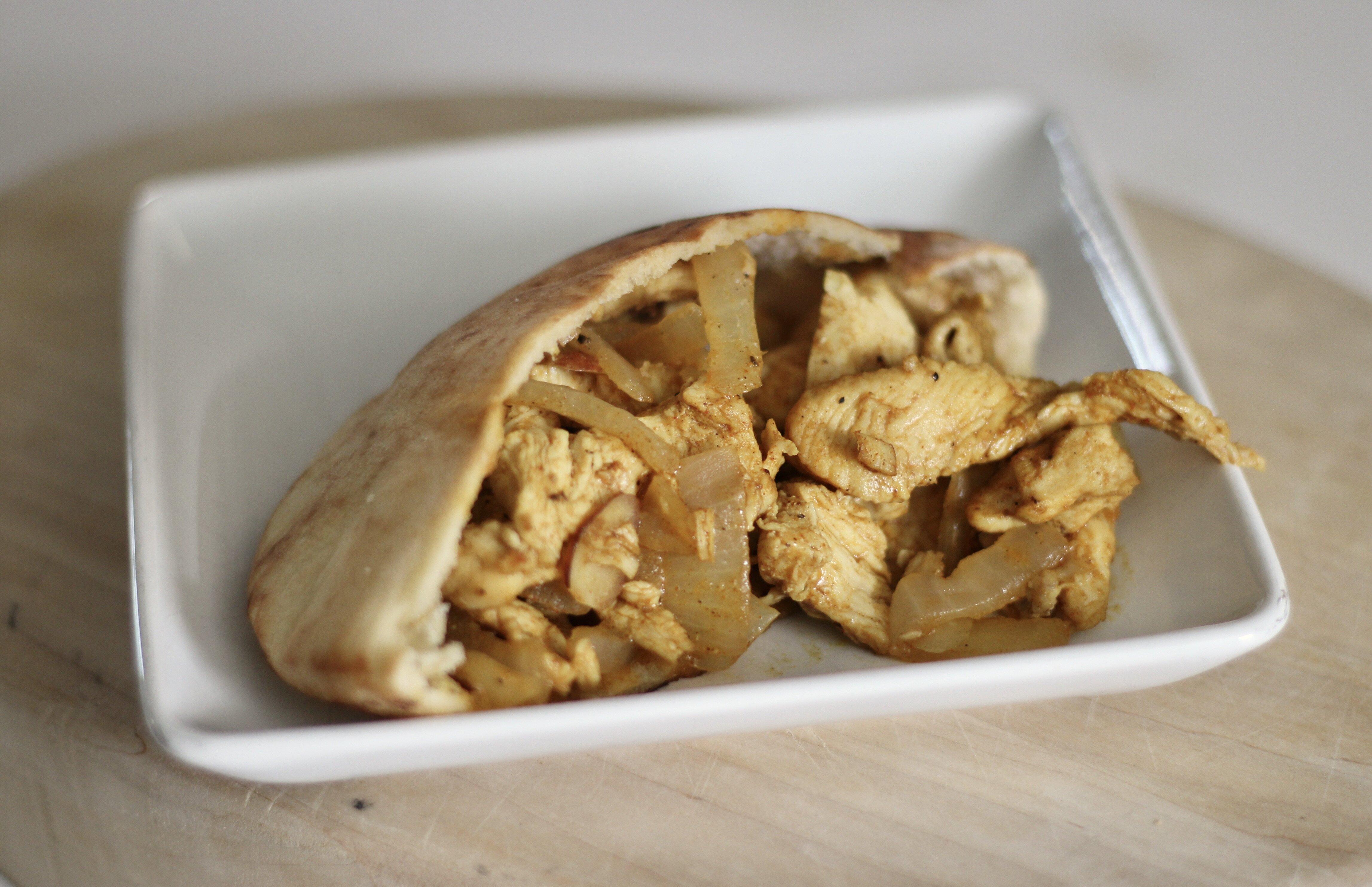 chicken shawarma sandwiches recipe