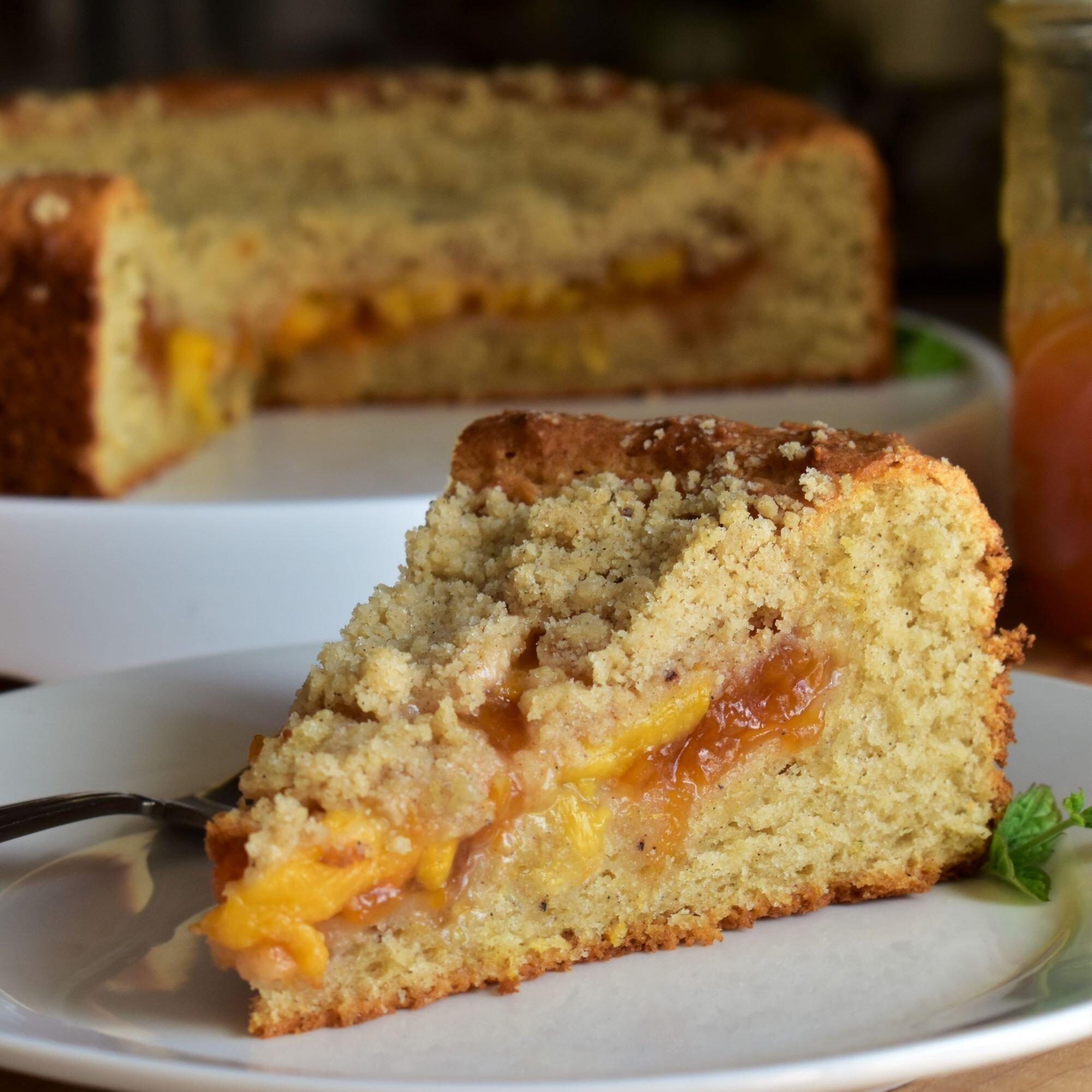 Peach Jam Coffee Cake