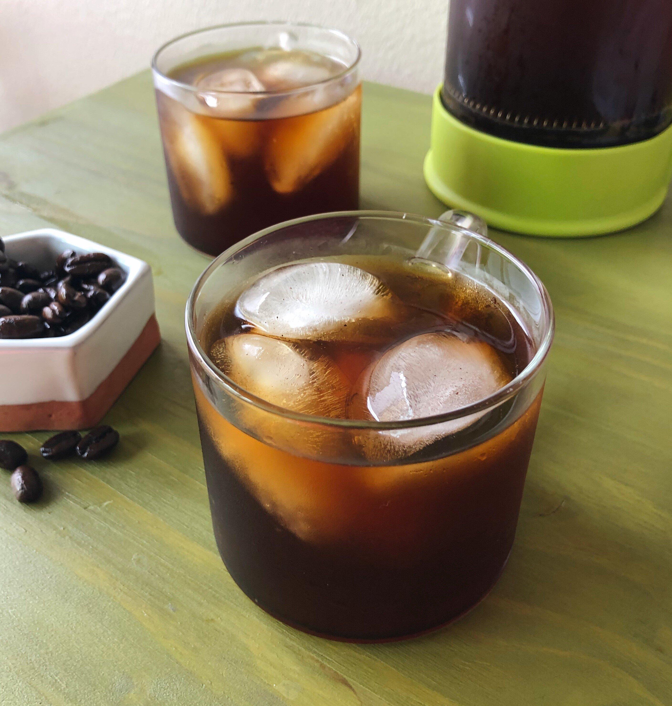 cold brewed iced coffee recipe