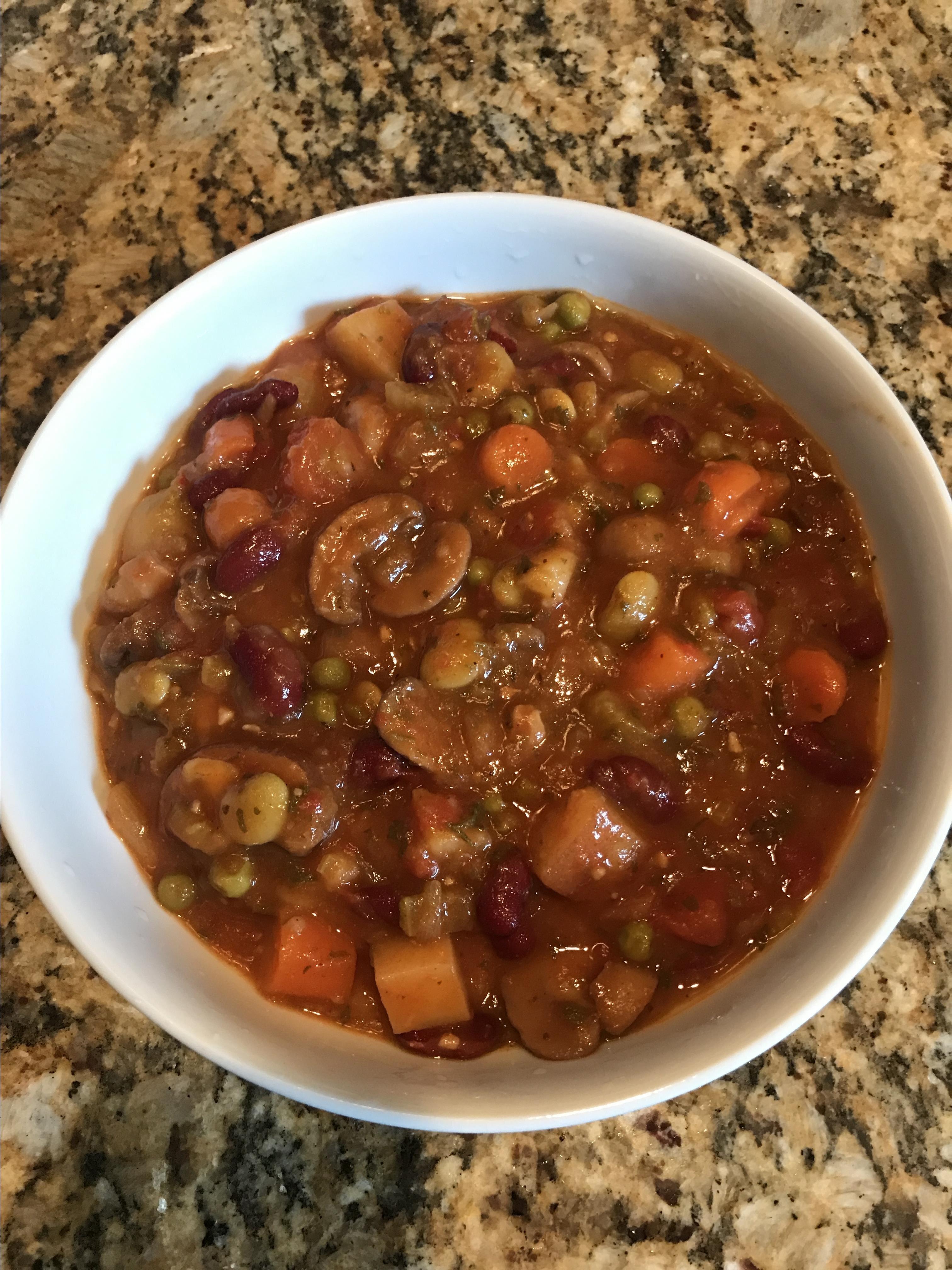 instant pot mushroom stew