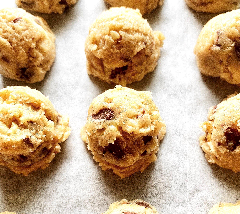 edible chocolate chip cookie dough recipe