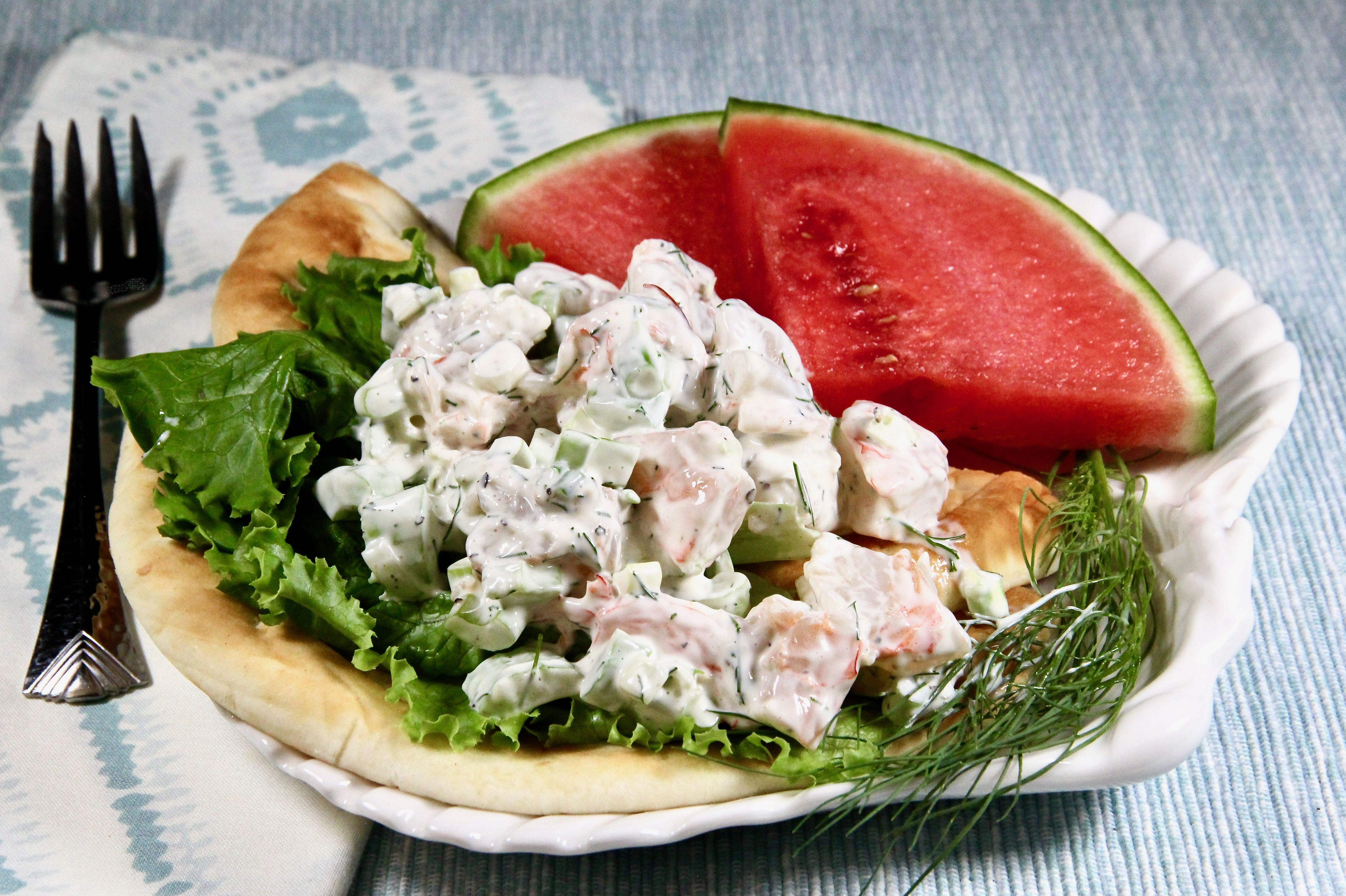 dill and shrimp salad recipe