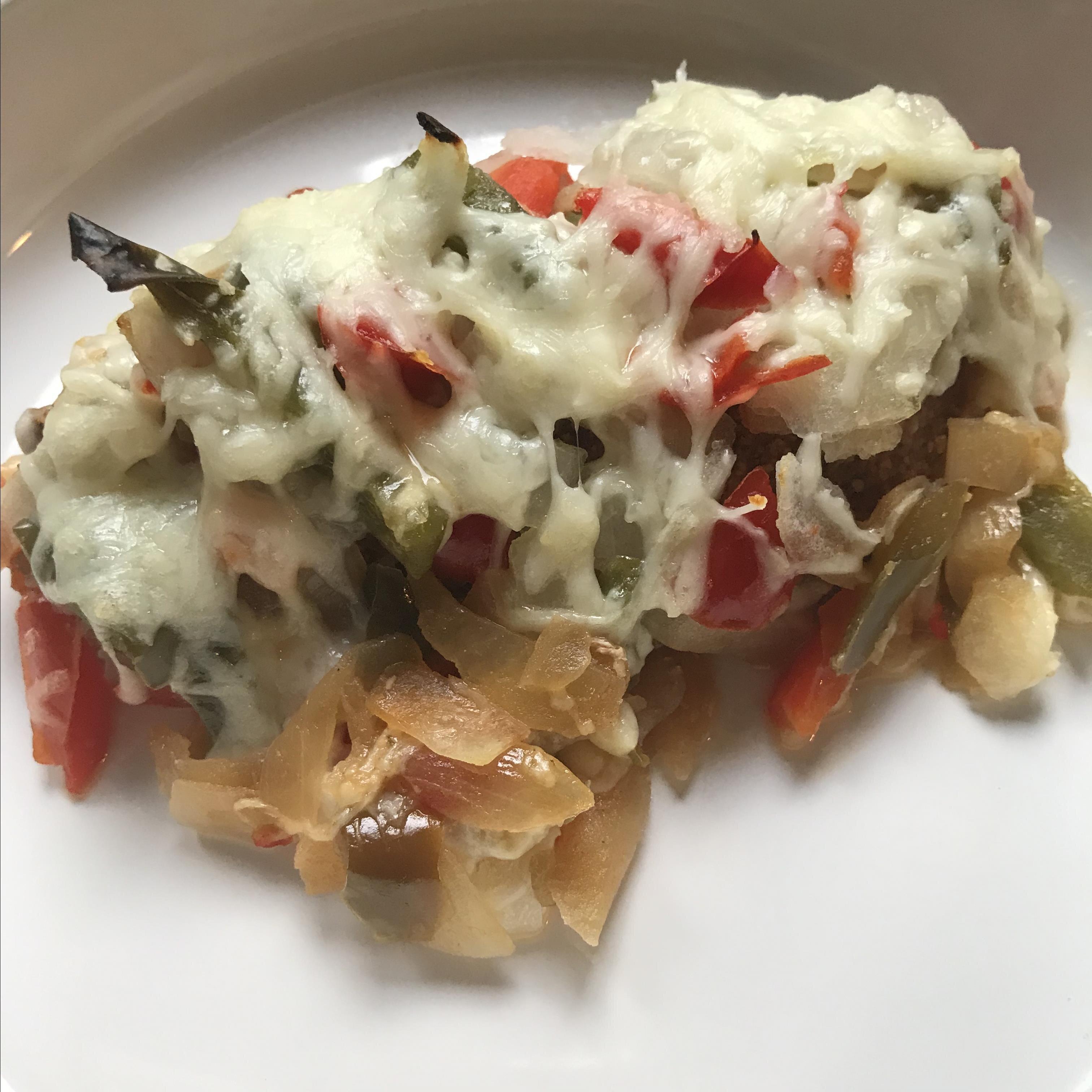 Shortcut Chicken Fajita Casserole