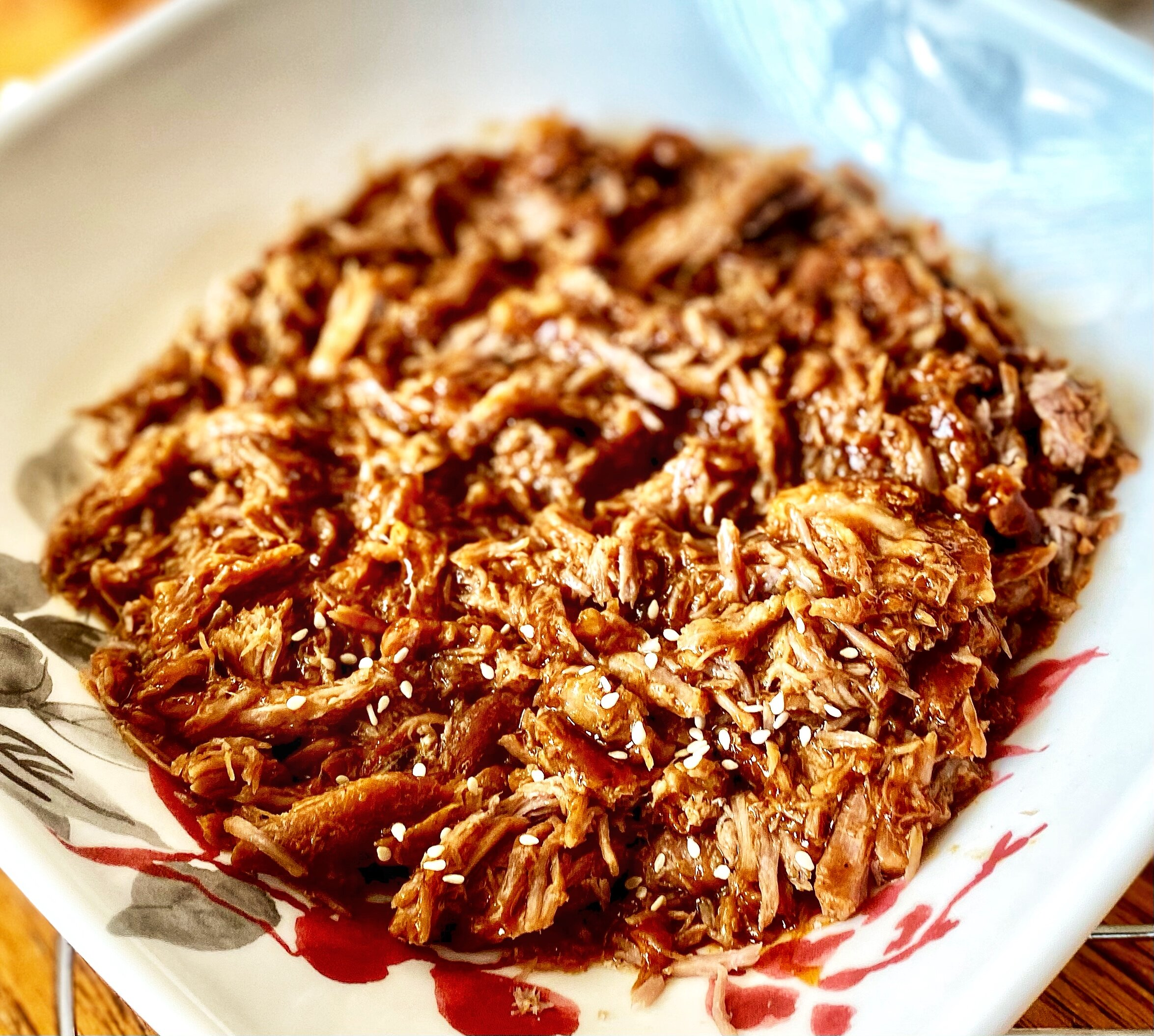 easy slow cooker teriyaki pulled pork