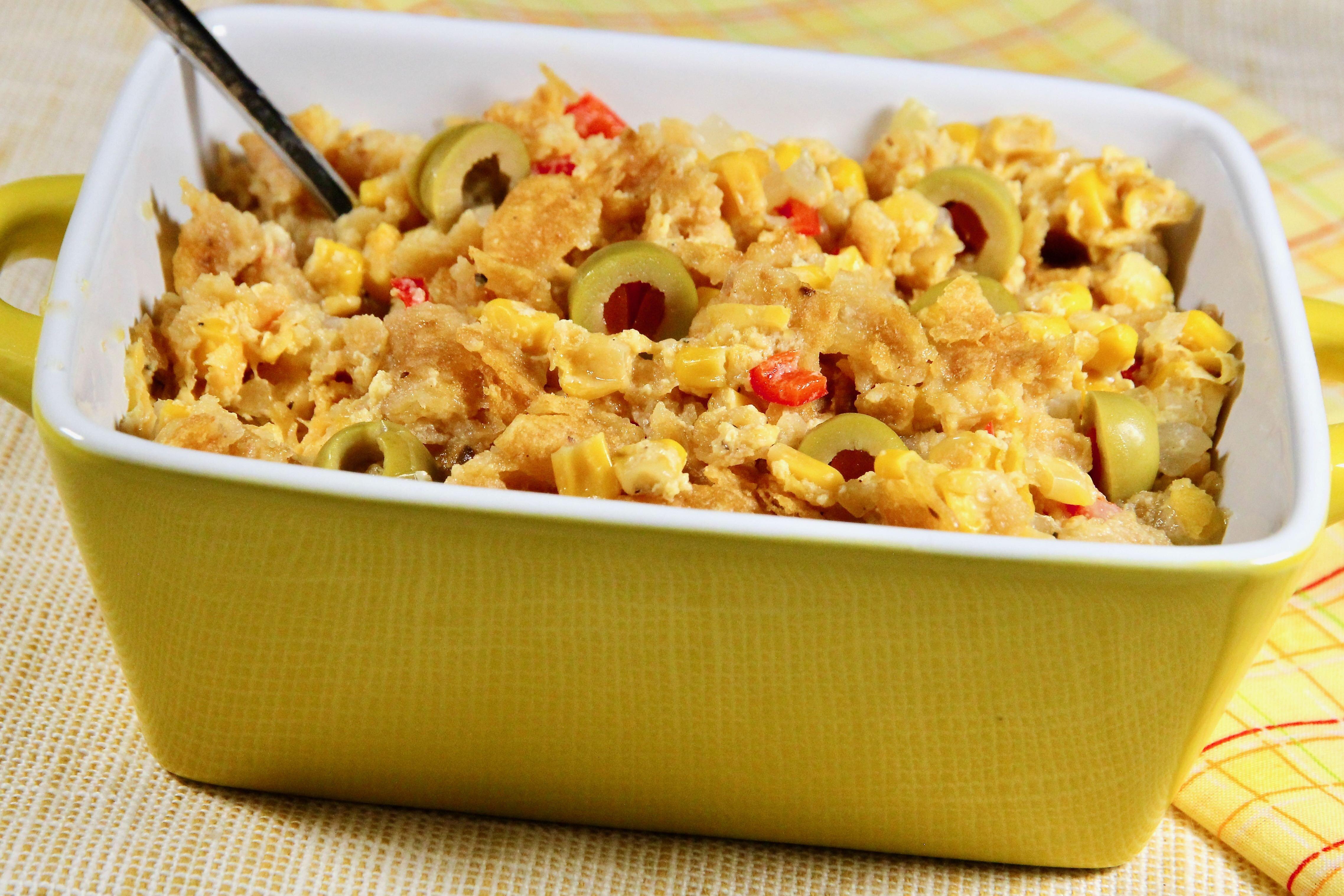 bridgets family corn casserole recipe