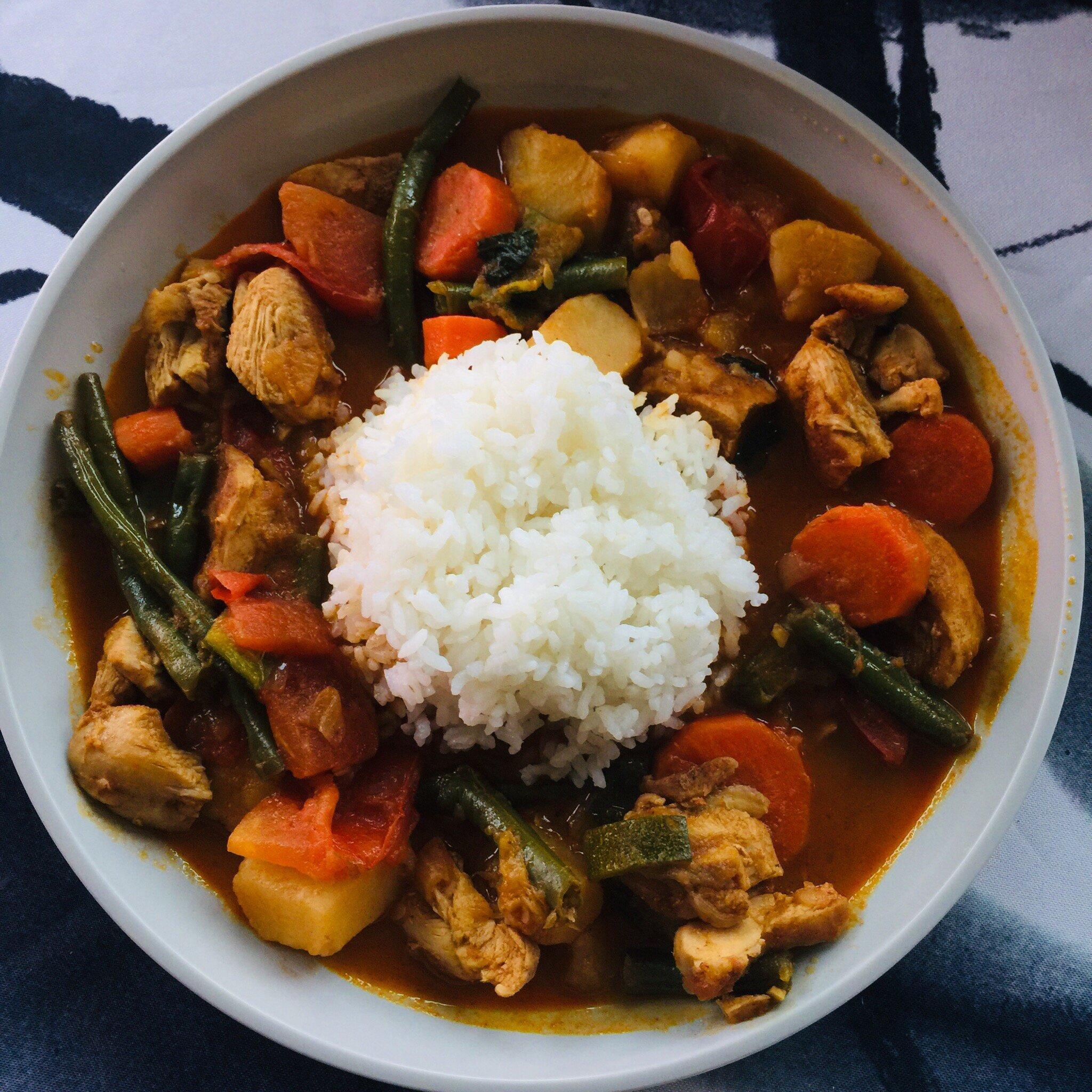 burmese chicken curry recipe