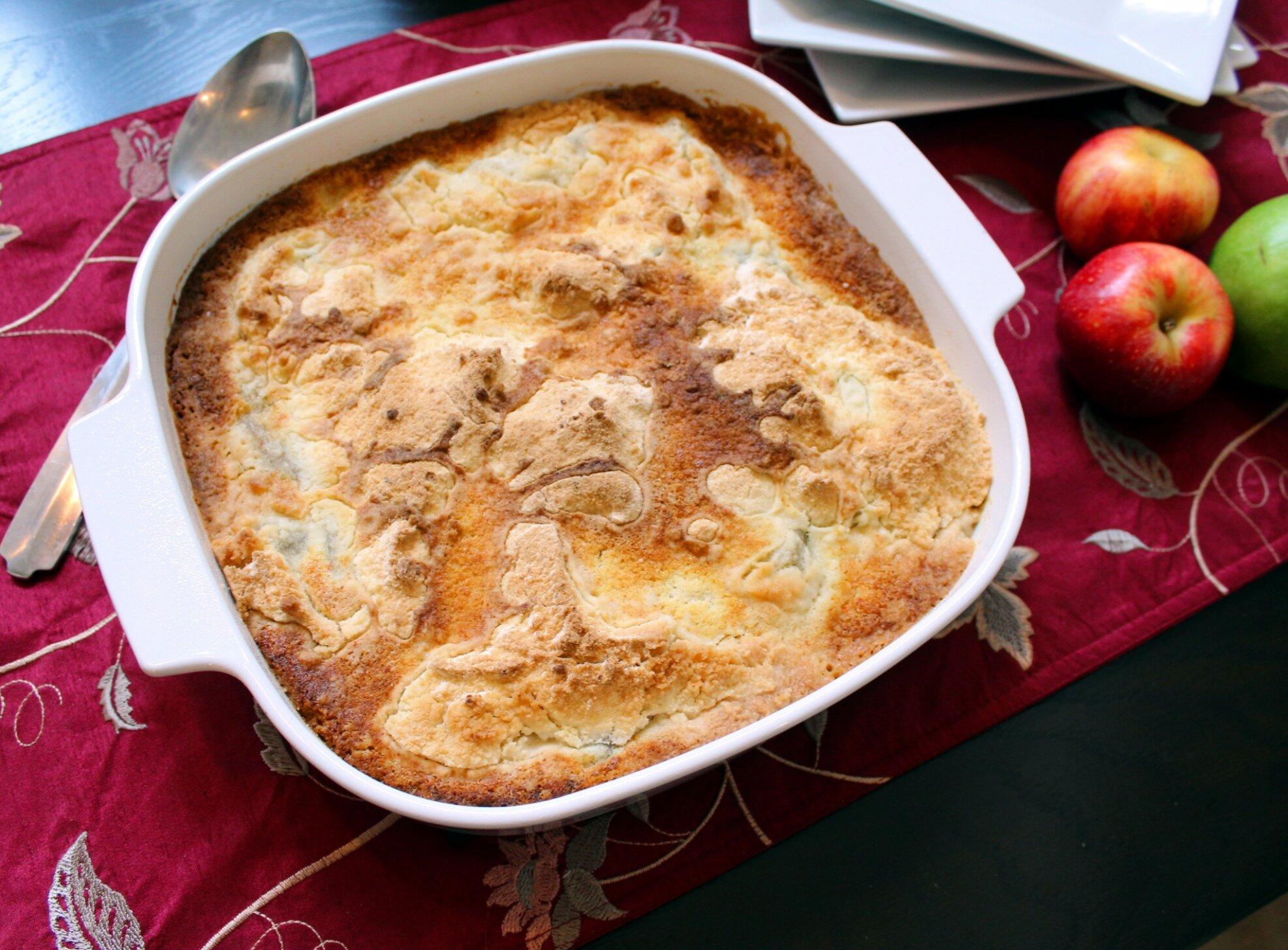 apple pie cake mix cake recipe